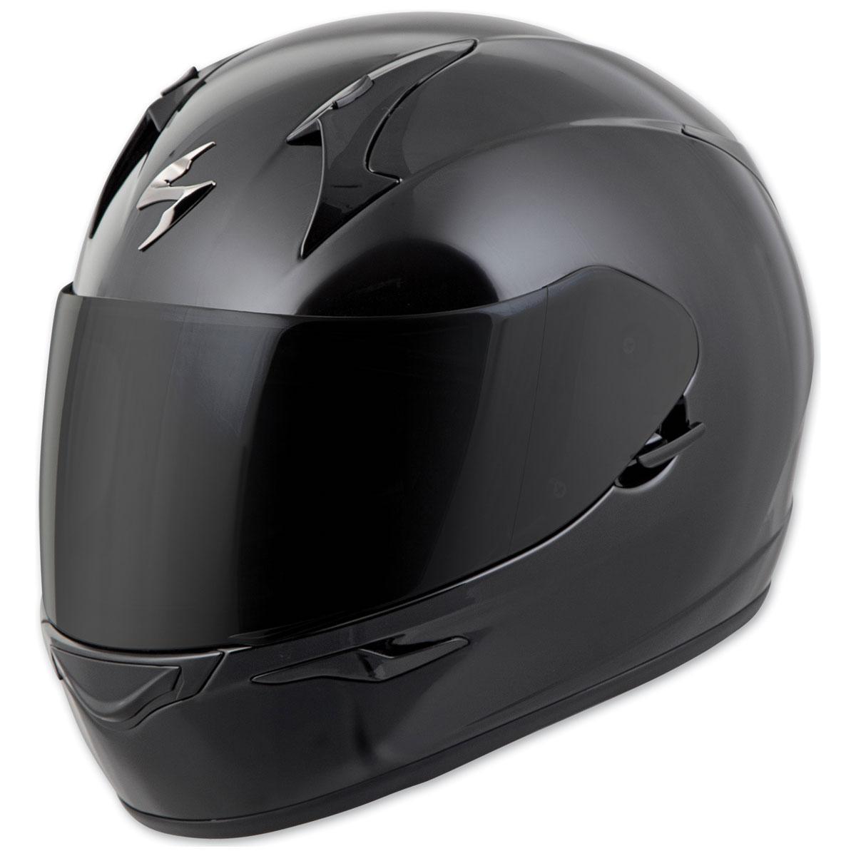 Scorpion EXO EXO-R320 Gloss Black Full Face Helmet