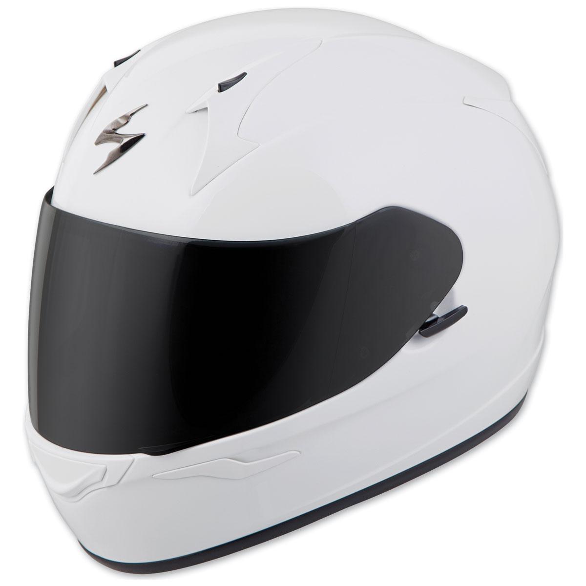 Scorpion EXO EXO-R320 Gloss White Full Face Helmet