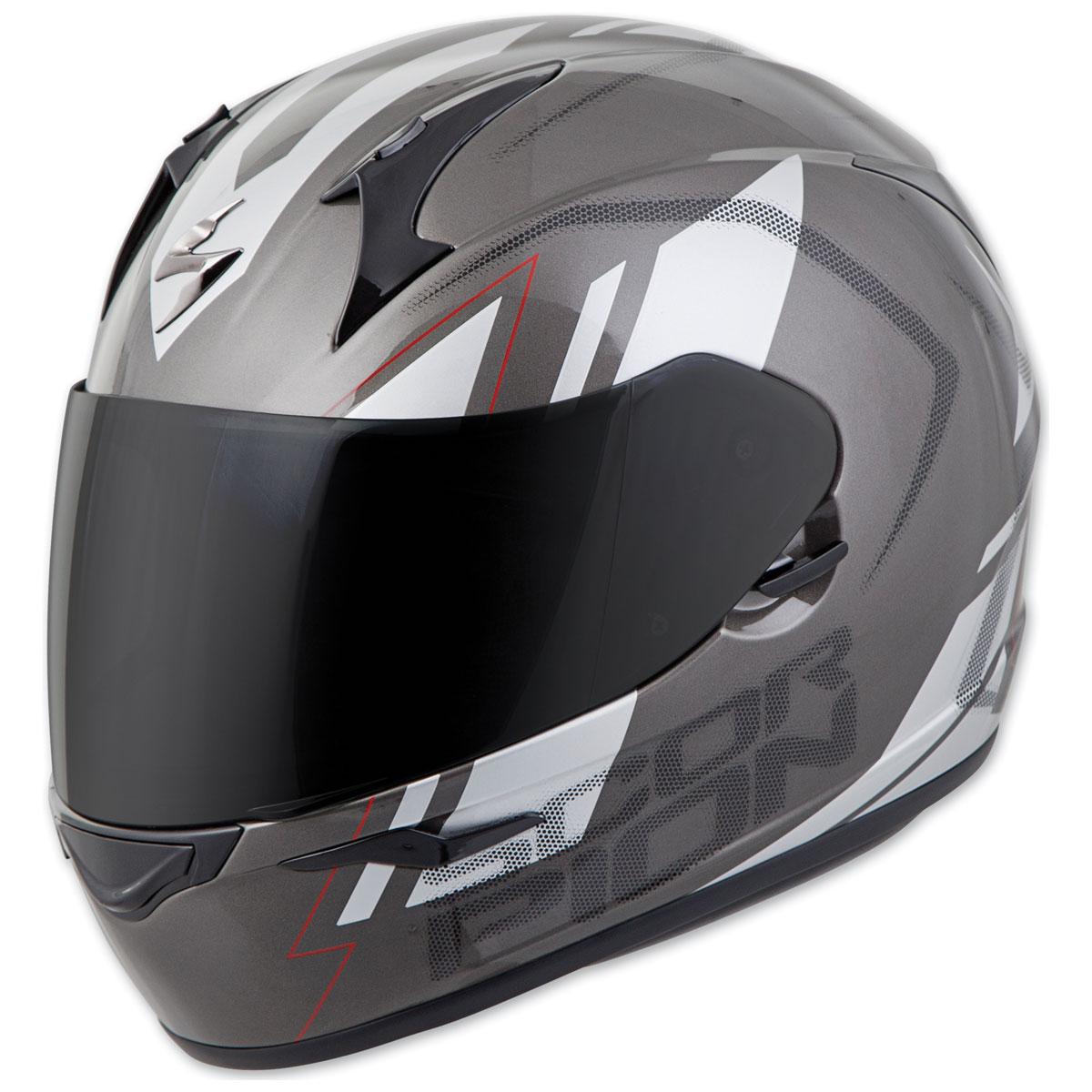 Scorpion EXO EXO-R320 Endeavor Gray/Silver Full Face Helmet