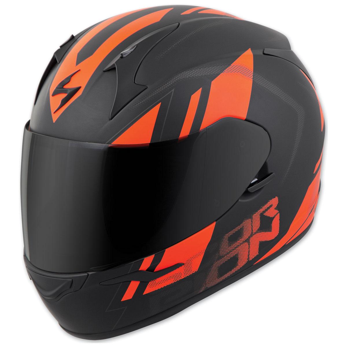 Scorpion EXO EXO-R320 Endeavor Black/Orange Full Face Helmet