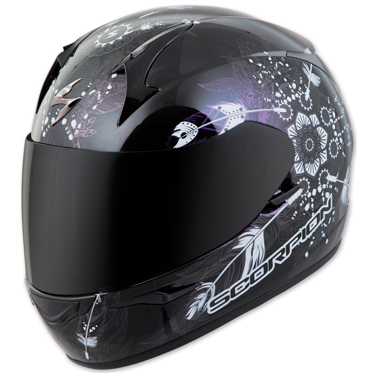 Scorpion EXO EXO-R320 Dream Black Full Face Helmet