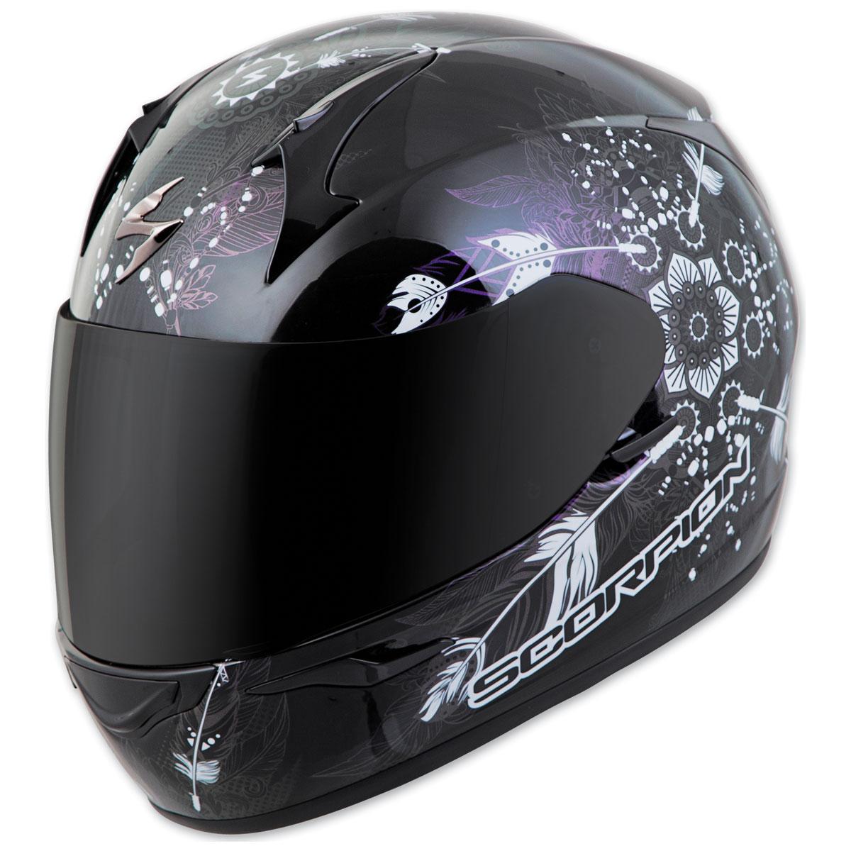 Scorpion EXO EXO-R320 Dream Black Full Face Helmet