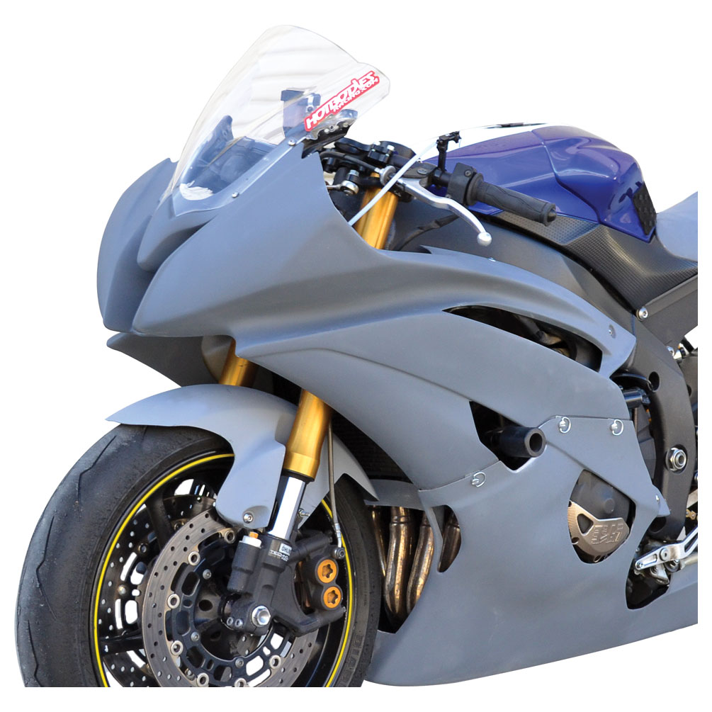 Hotbodies Race Upper Fairing Gray