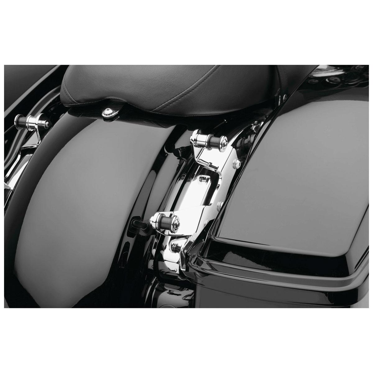 Cobra Backrest Mounting Kit Chrome