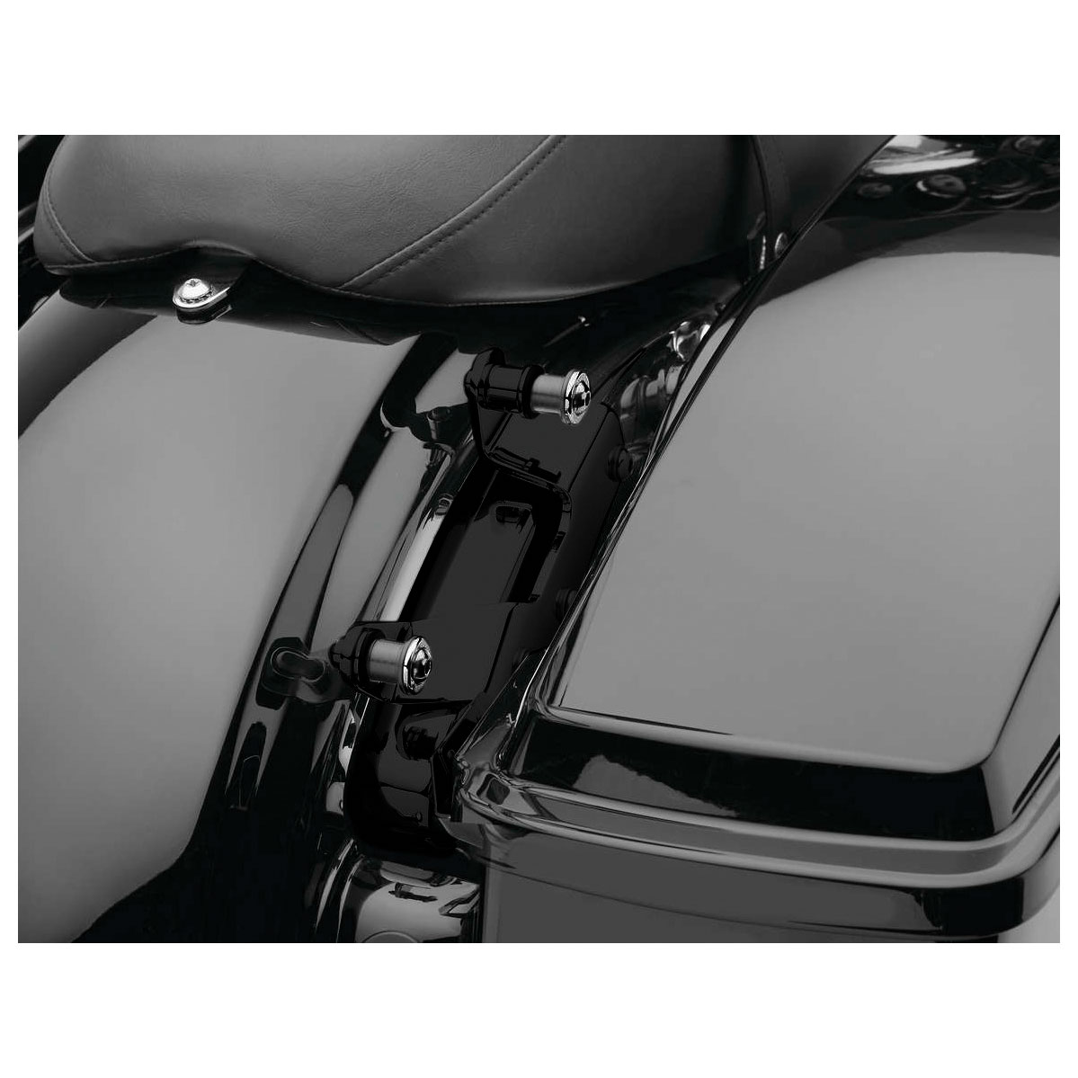 Cobra Backrest Mounting Kit Black