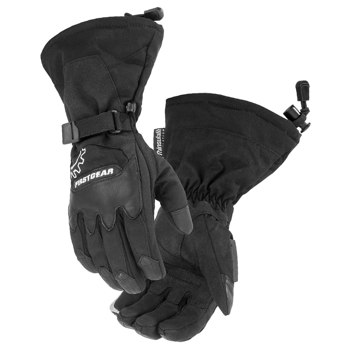 Firstgear Women's Exlporer Black Gloves