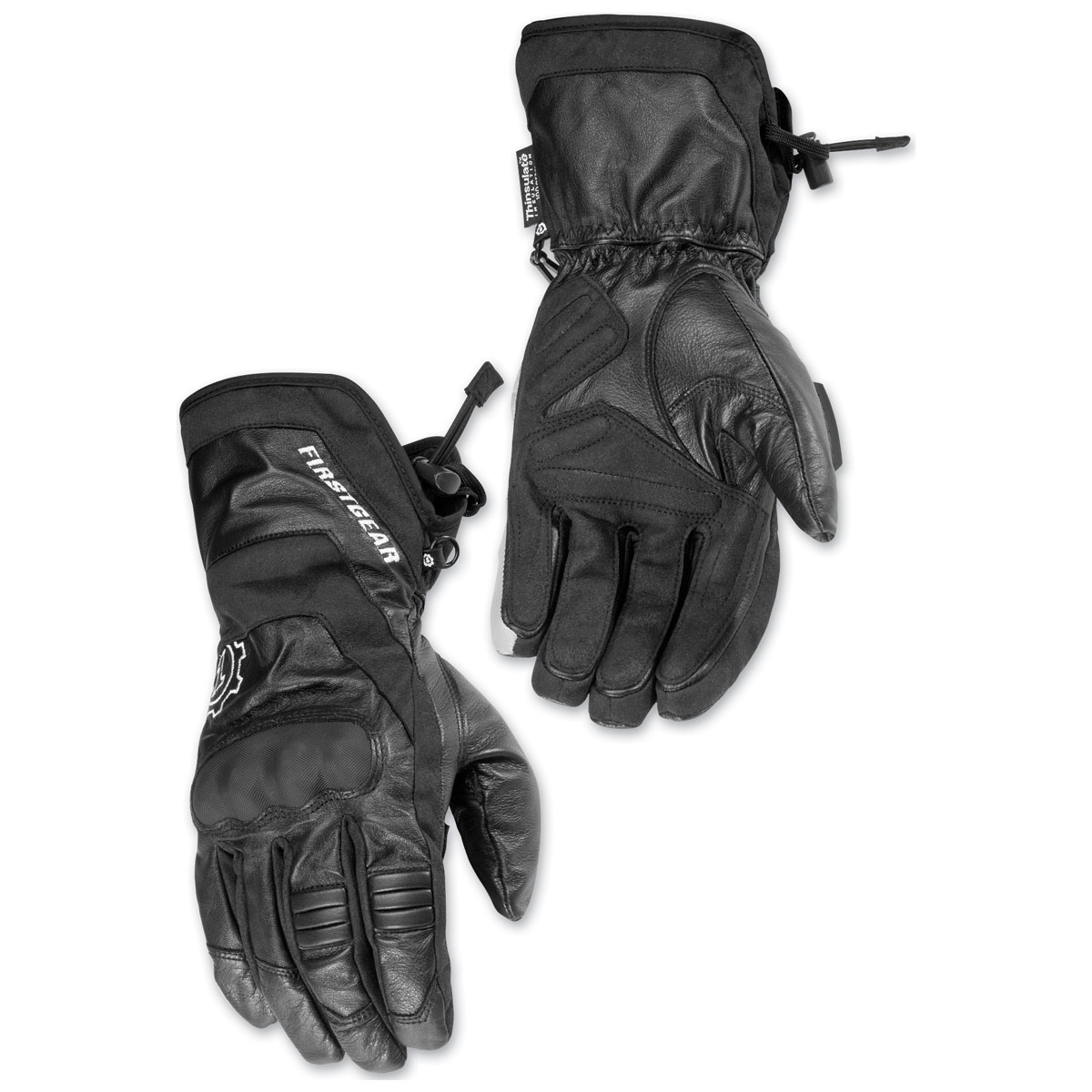 Firstgear Men's Navigator Black Gloves