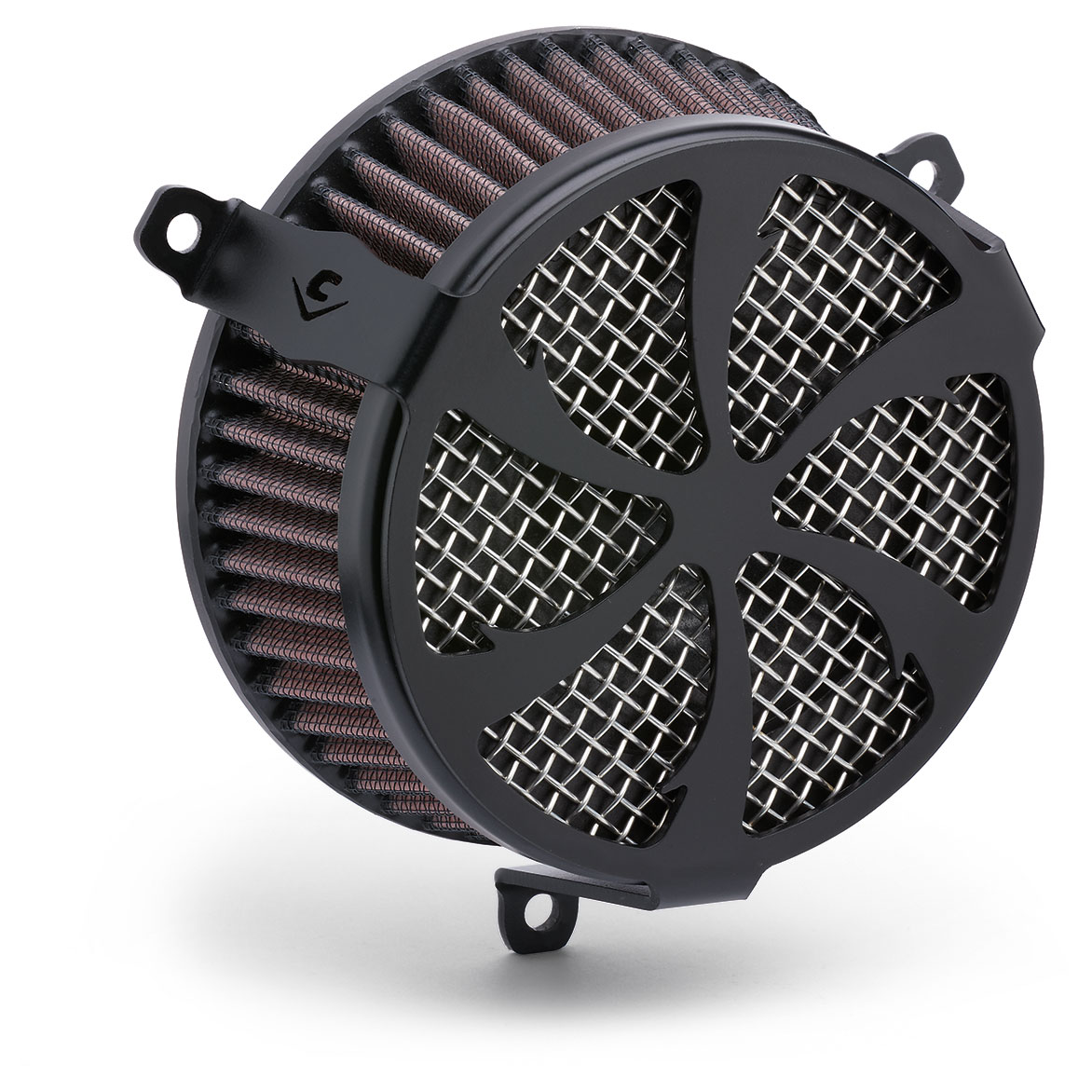 Cobra PowrFlo Air Cleaner Kit Swept Black
