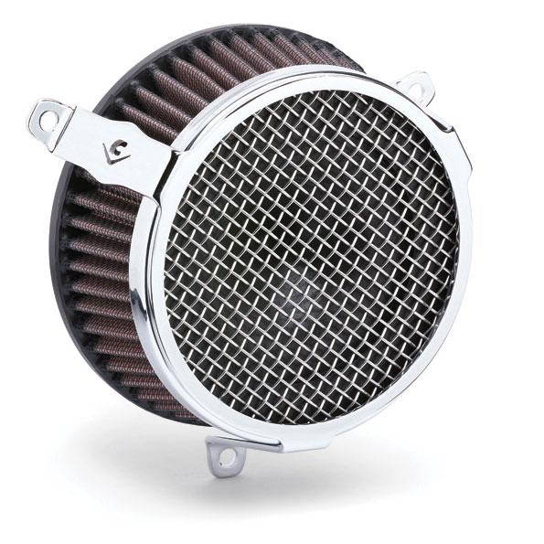 Cobra PowrFlo Air Cleaner Kit Plain Chrome