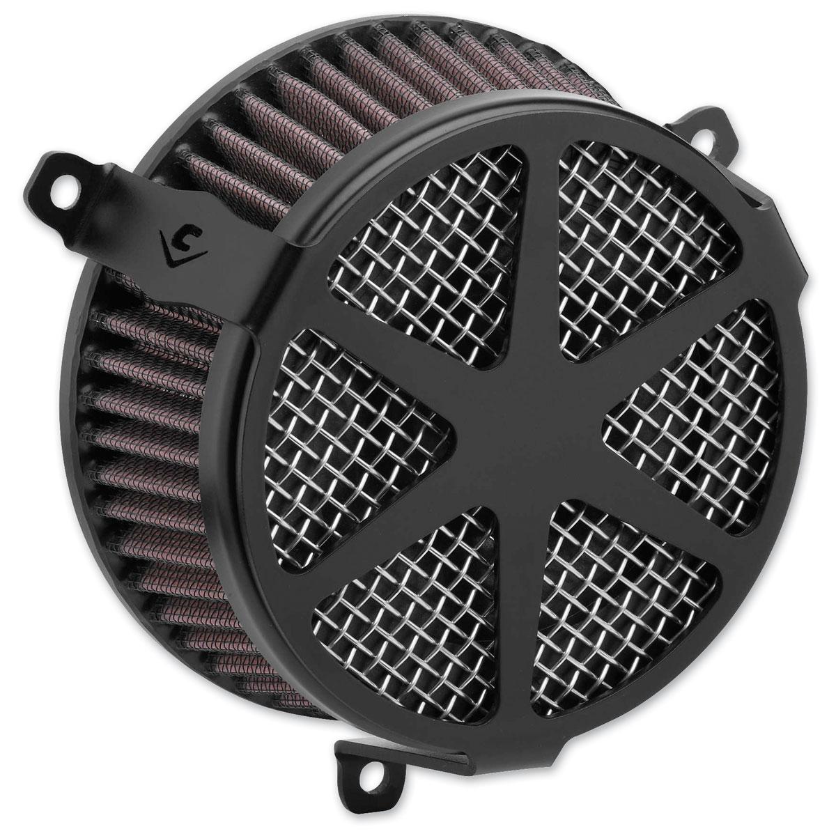 Cobra PowrFlo Air Cleaner Kit Spoke Black