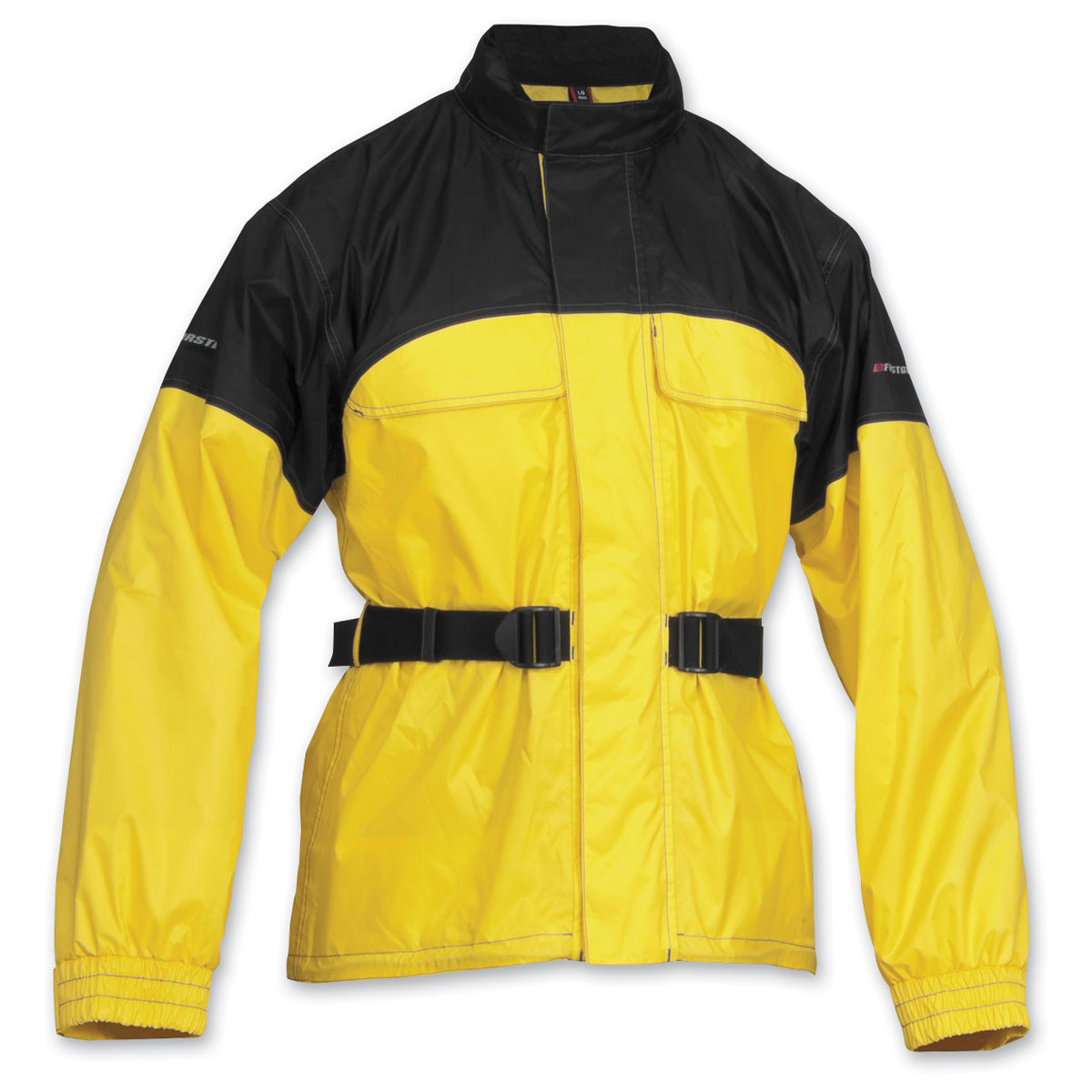 Firstgear Men's Rainman Black/Yellow Rain Jacket