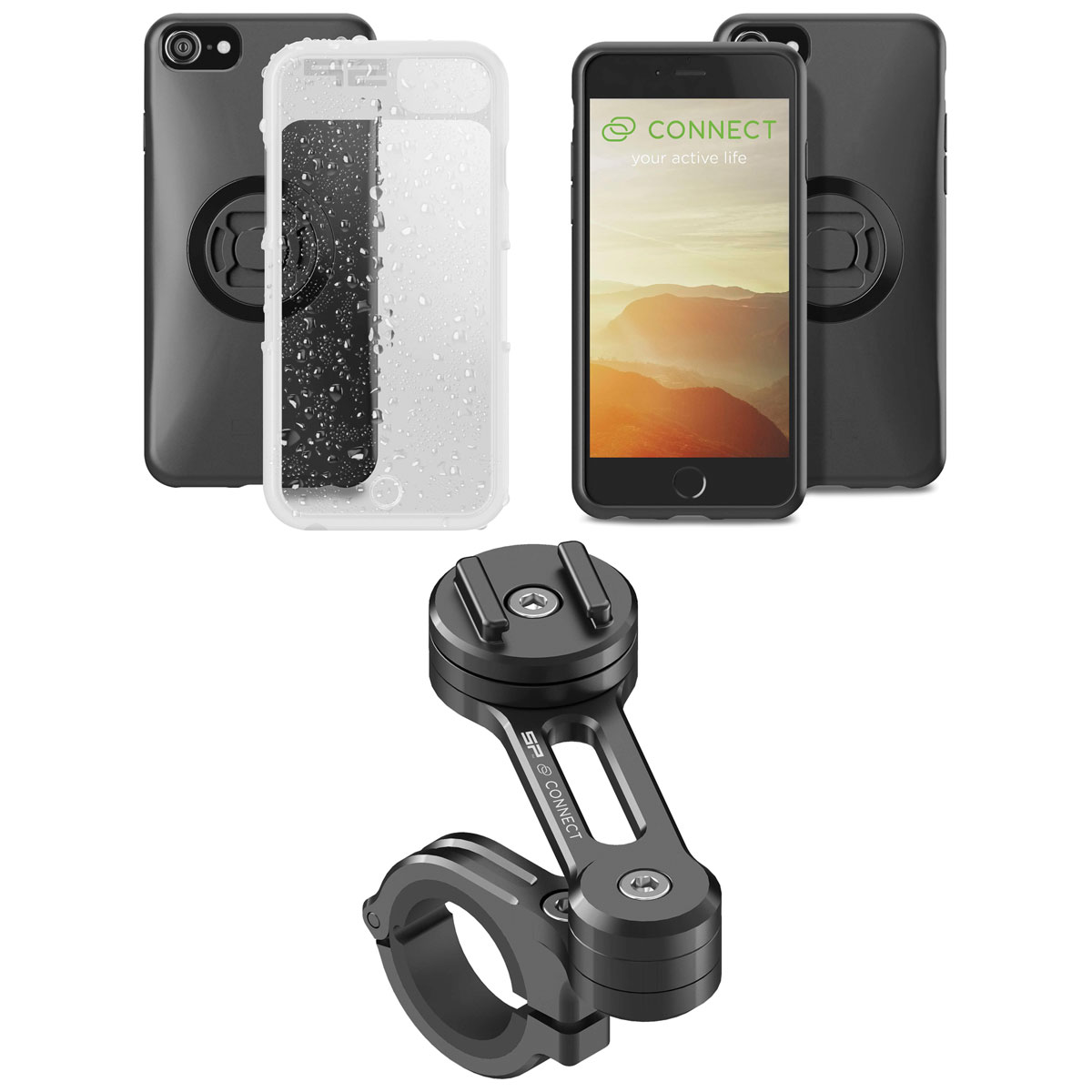 SP Connect Moto Bundle for iPhone 6/6S/7/8