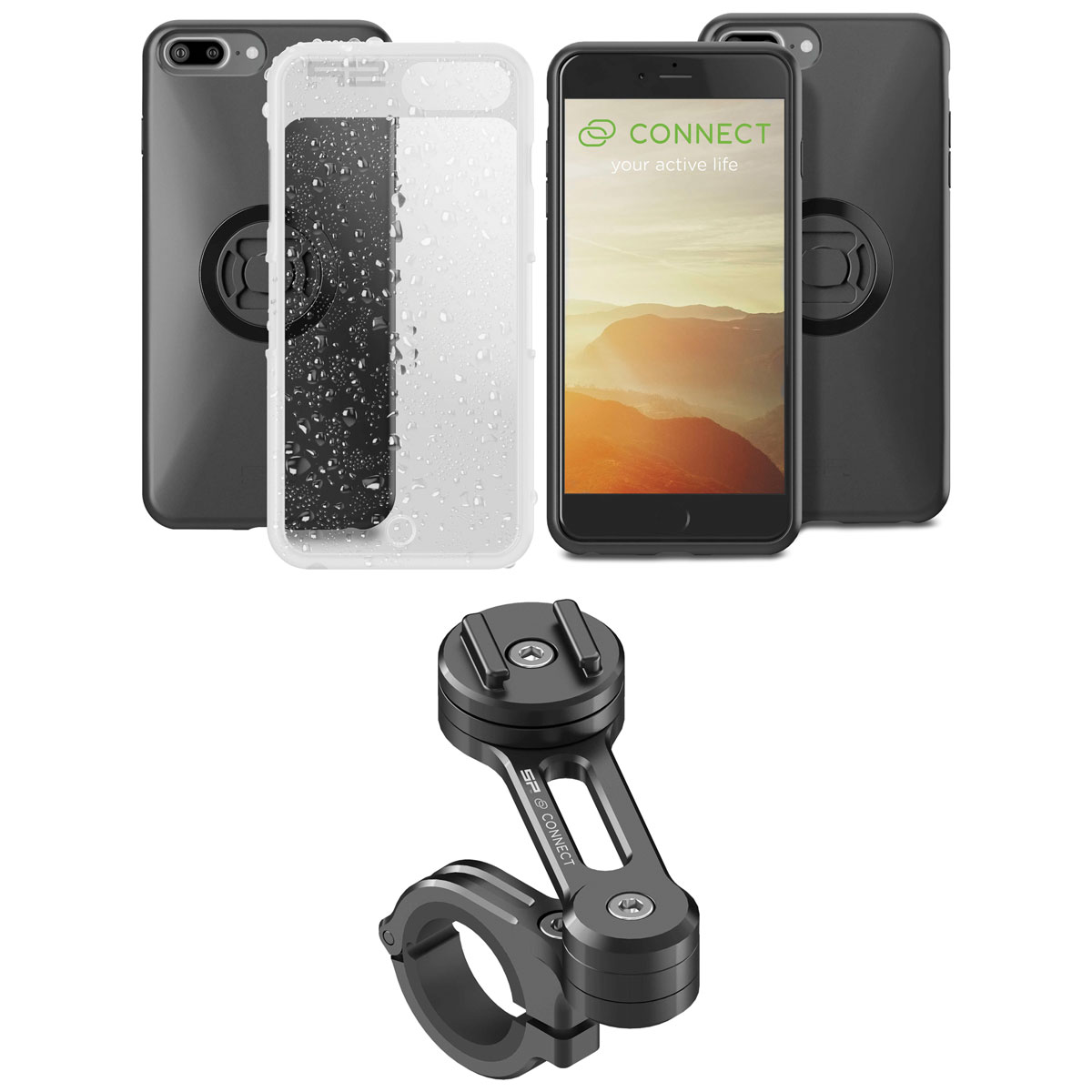 SP Connect Moto Bundle for iPhone 6/6S/7/8 Plus
