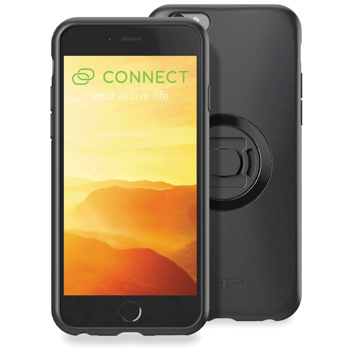 SP Connect Case Set for iPhone 6/6S/7/8, Black