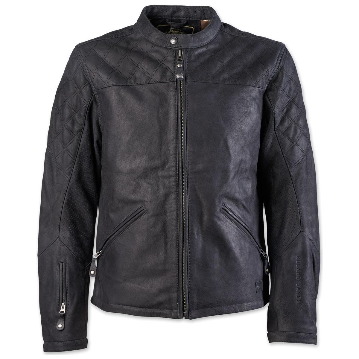 Roland Sands Design Apparel Men's Rockingham Black Leather Jacket