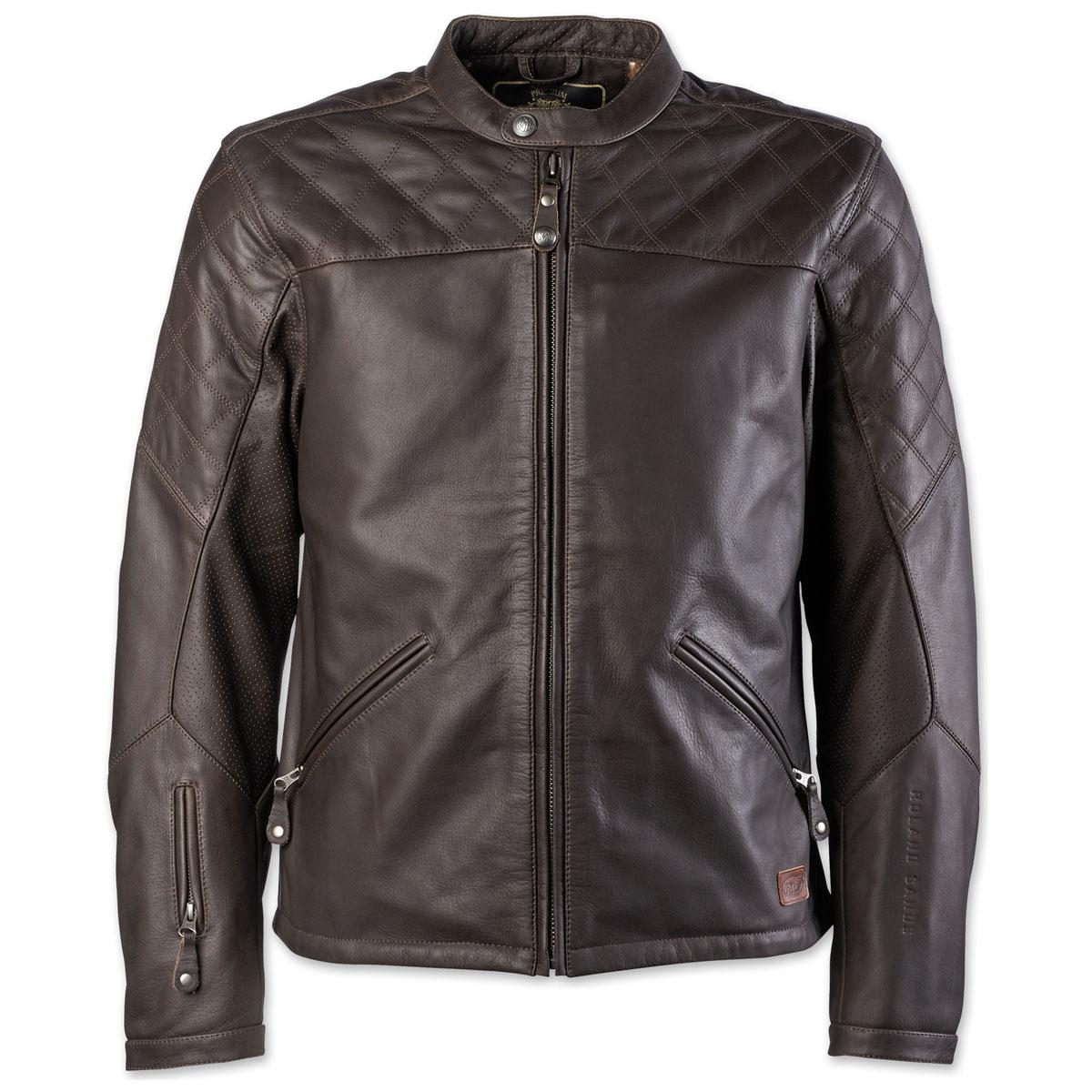 Roland Sands Design Apparel Men's Rockingham Ranger Leather Jacket
