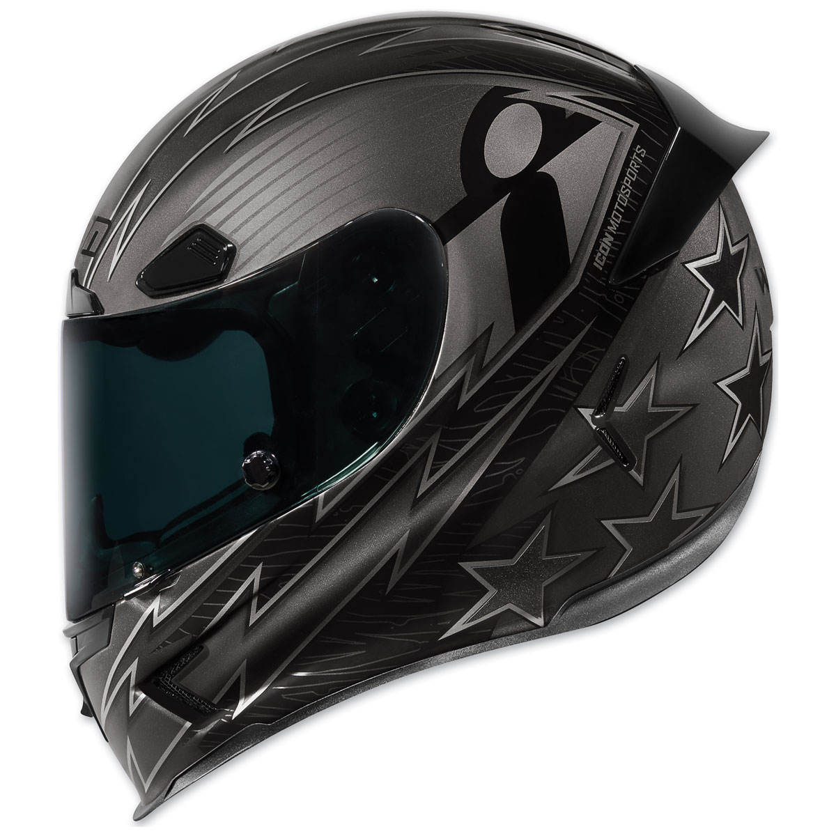 ICON Airframe Pro Warbird Black Full Face Helmet