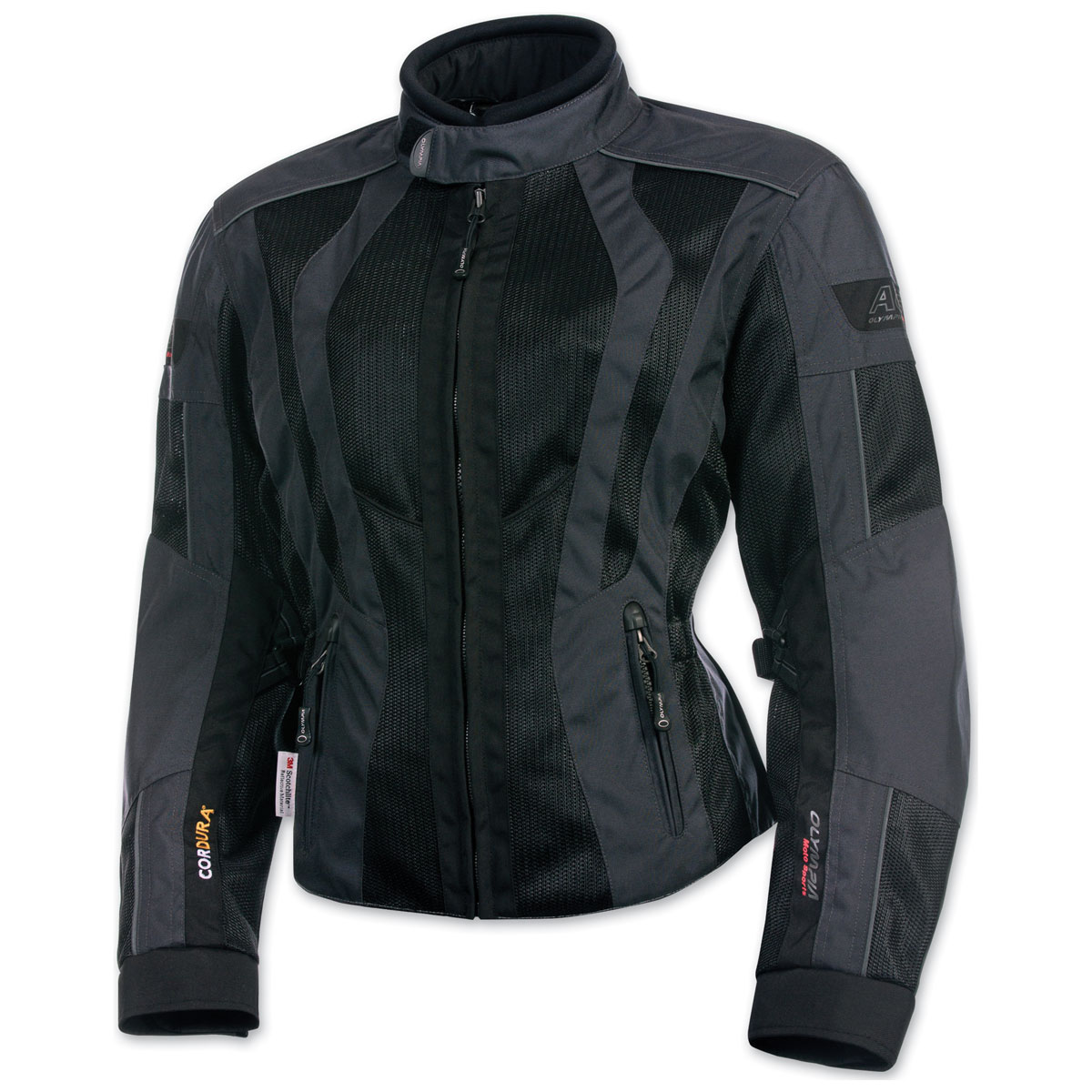 Olympia Moto Sports Women's Airglide 5 Mesh Tech Slate Jacket