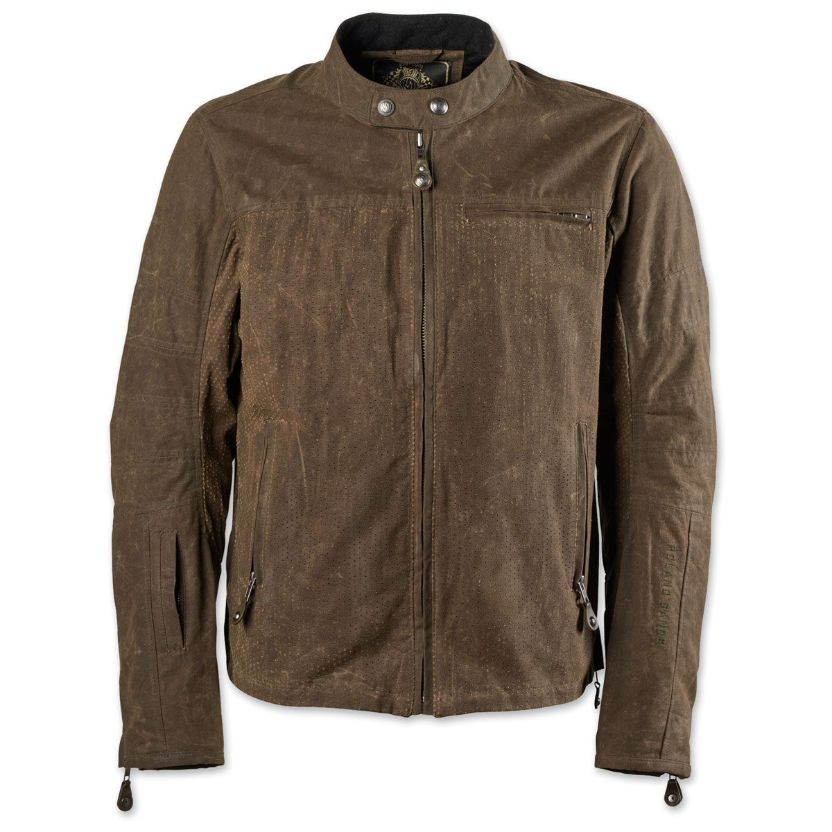 Roland Sands Design Apparel Men's Ronin Perf Waxed Cotton Ranger Jacket