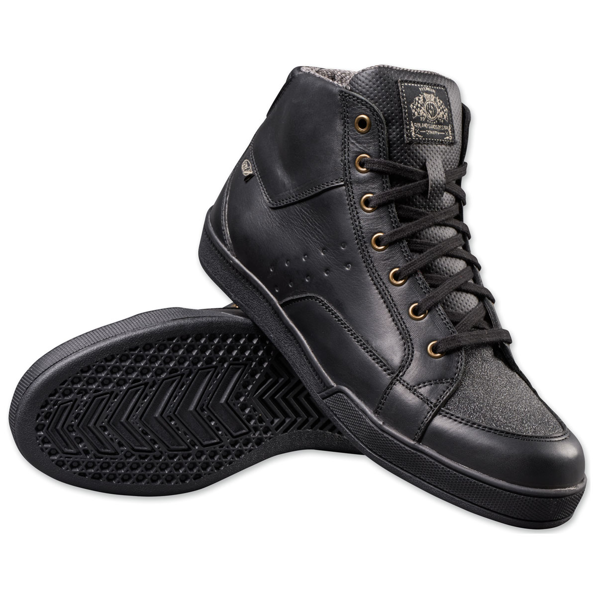Roland Sands Design Apparel Men's Fresno Black Shoes