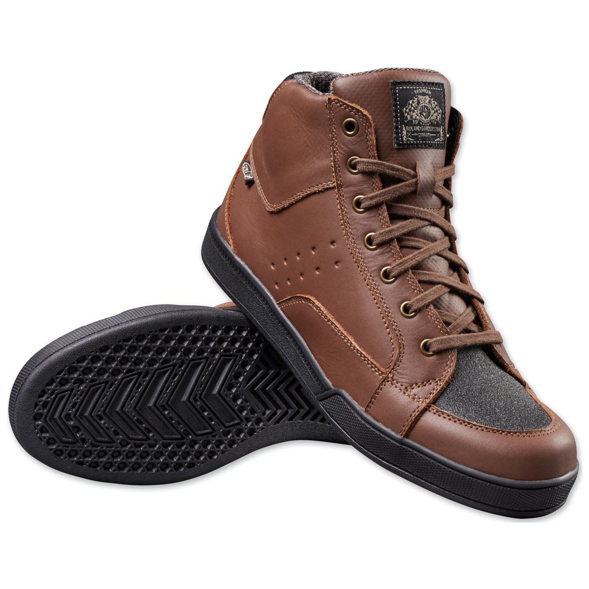 Roland Sands Design Apparel Men's Fresno Tobacco Shoes