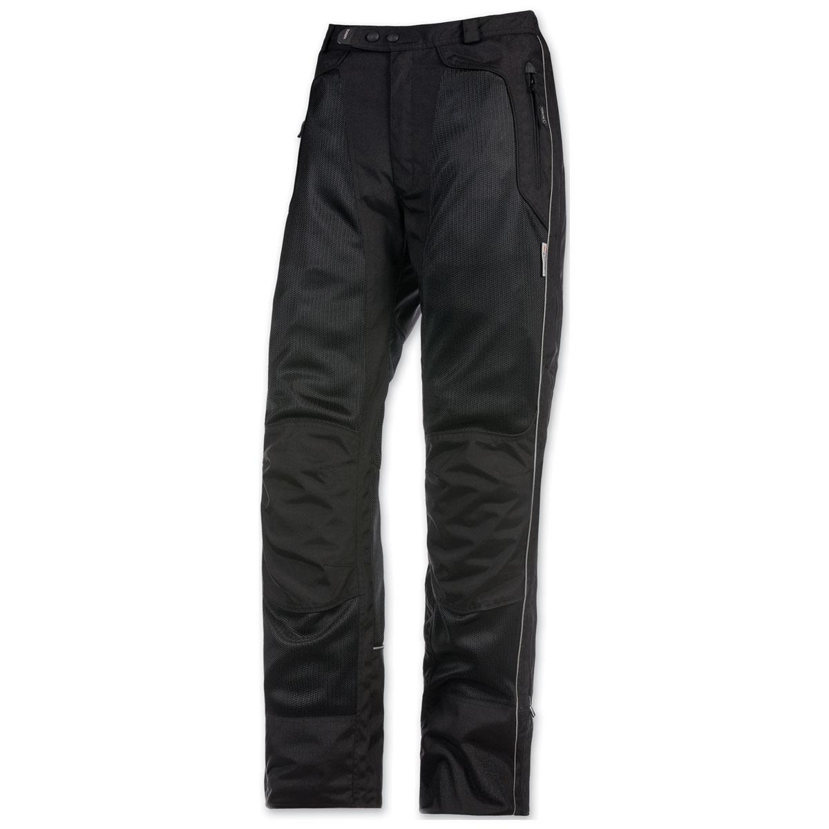 Olympia Moto Sports Men's Airglide 4 Mesh Tech Black Pants