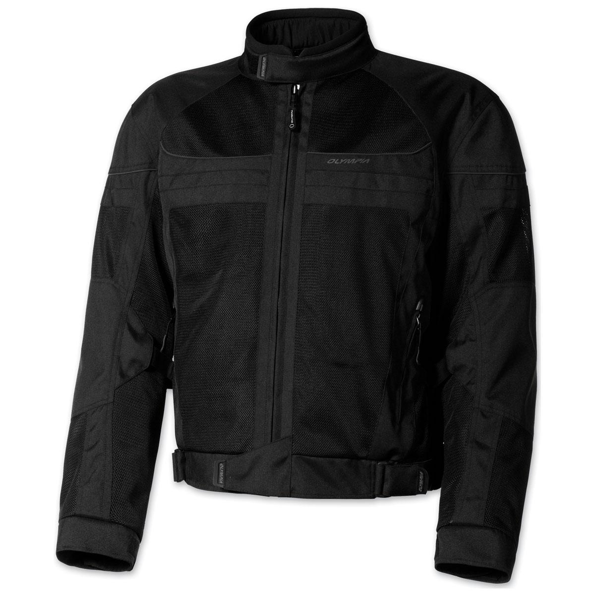 Olympia Moto Sports Men's Newport Black Jacket