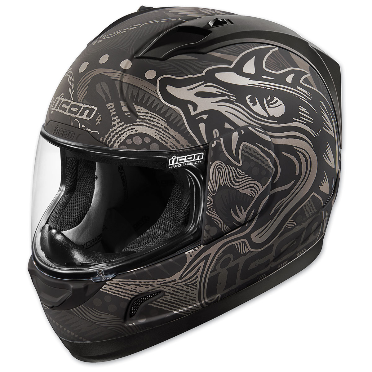 ICON Alliance Oro Boros Black Full Face Helmet