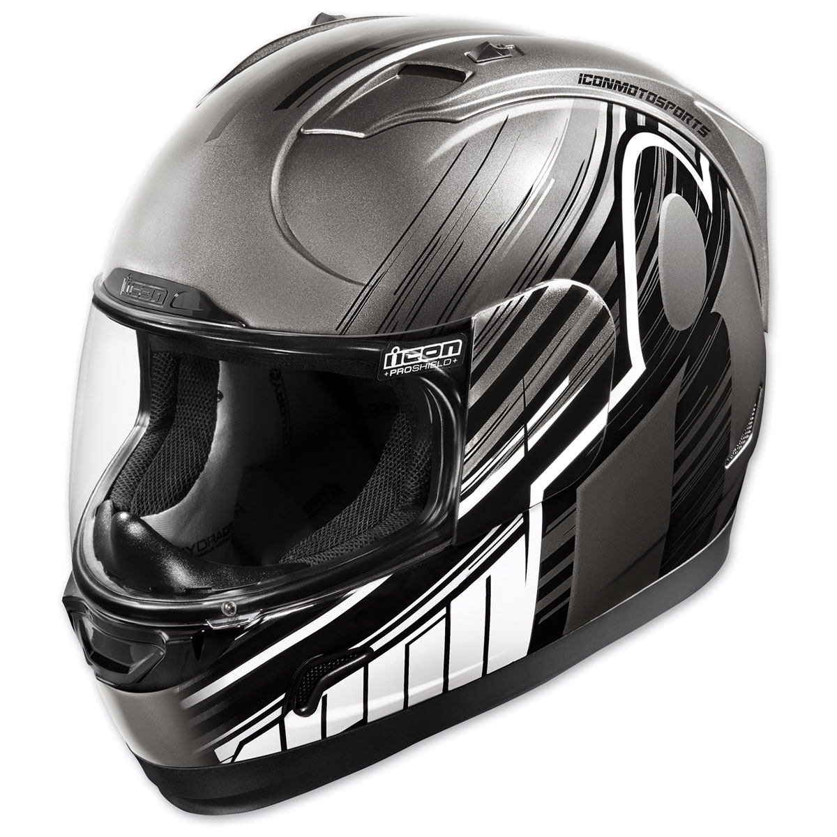 ICON Alliance Overlord Black Full Face Helmet
