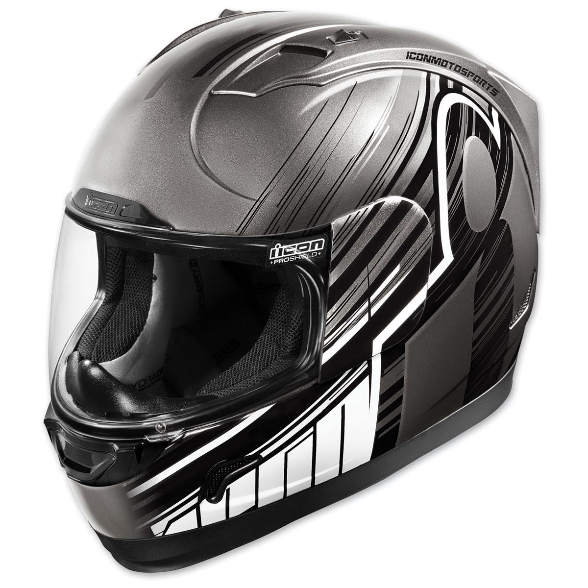 ICON Alliance Overlord Black Full Face Helmet