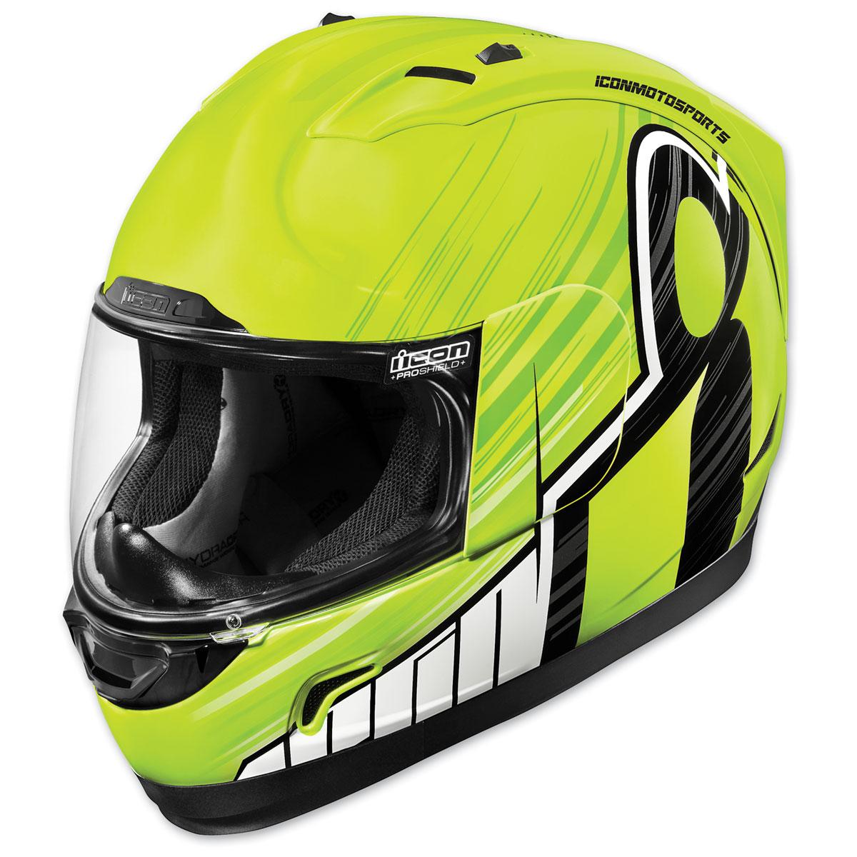 ICON Alliance Overlord Hi-Viz Full Face Helmet