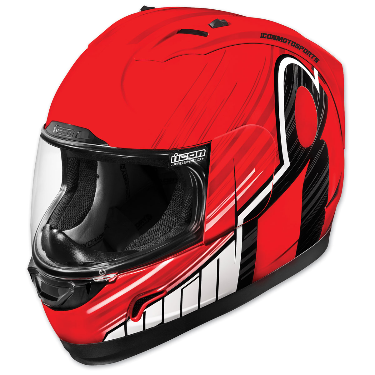 ICON Alliance Overlord Red Full Face Helmet