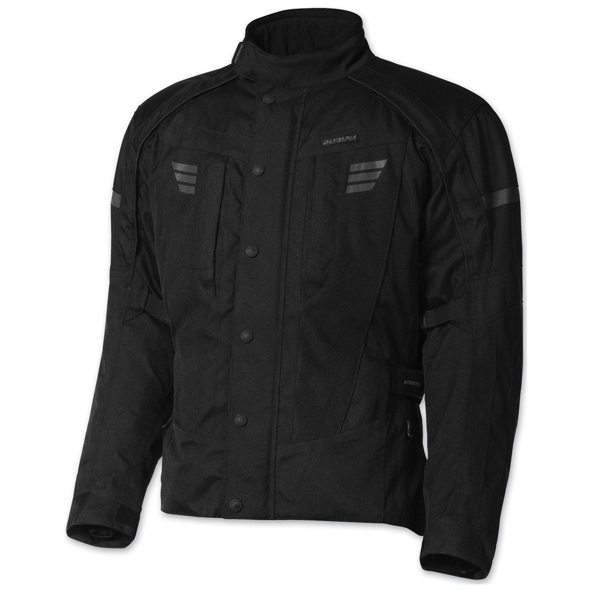 Olympia Moto Sports Men's Durham Black Jacket