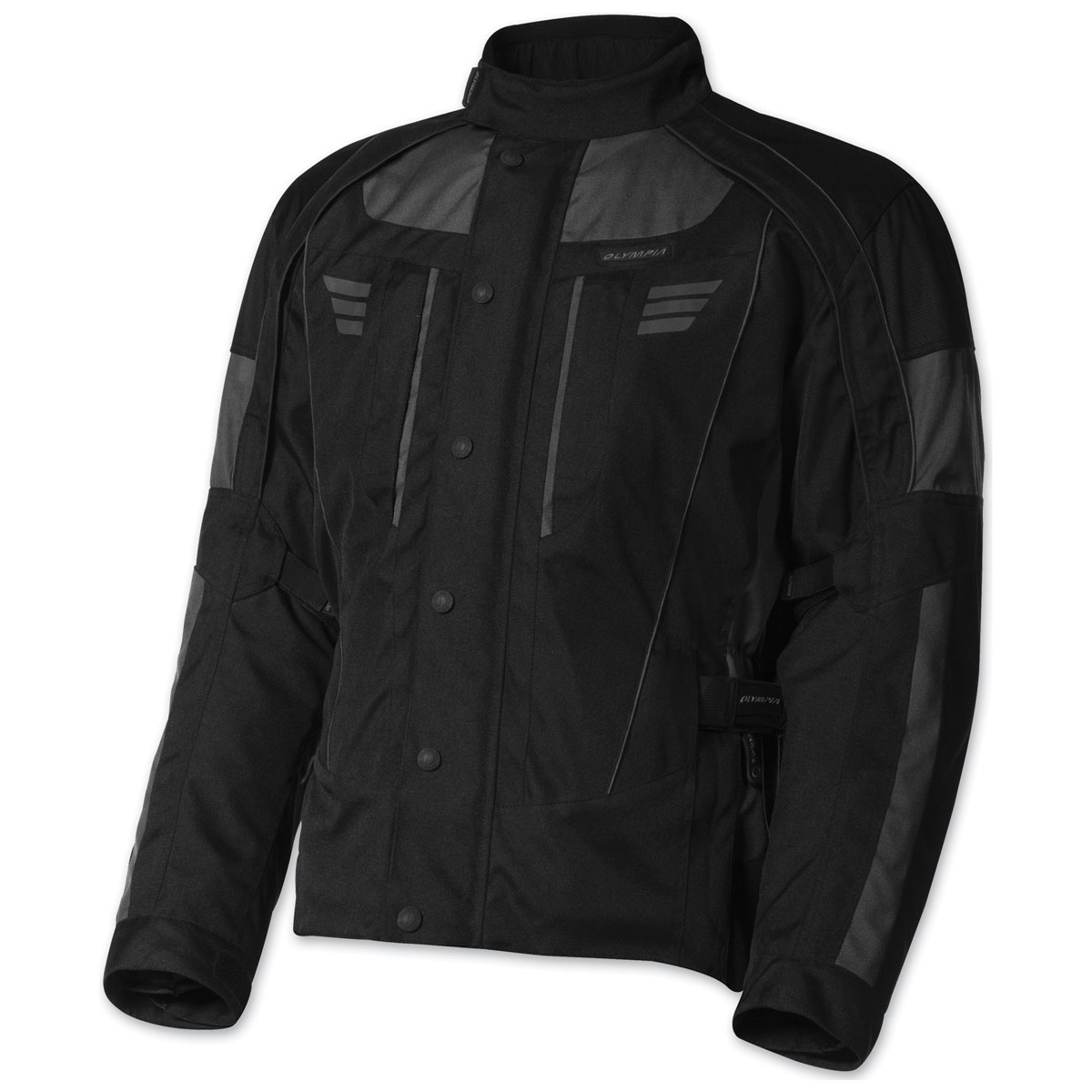 Olympia Moto Sports Men's Durham Gray Jacket