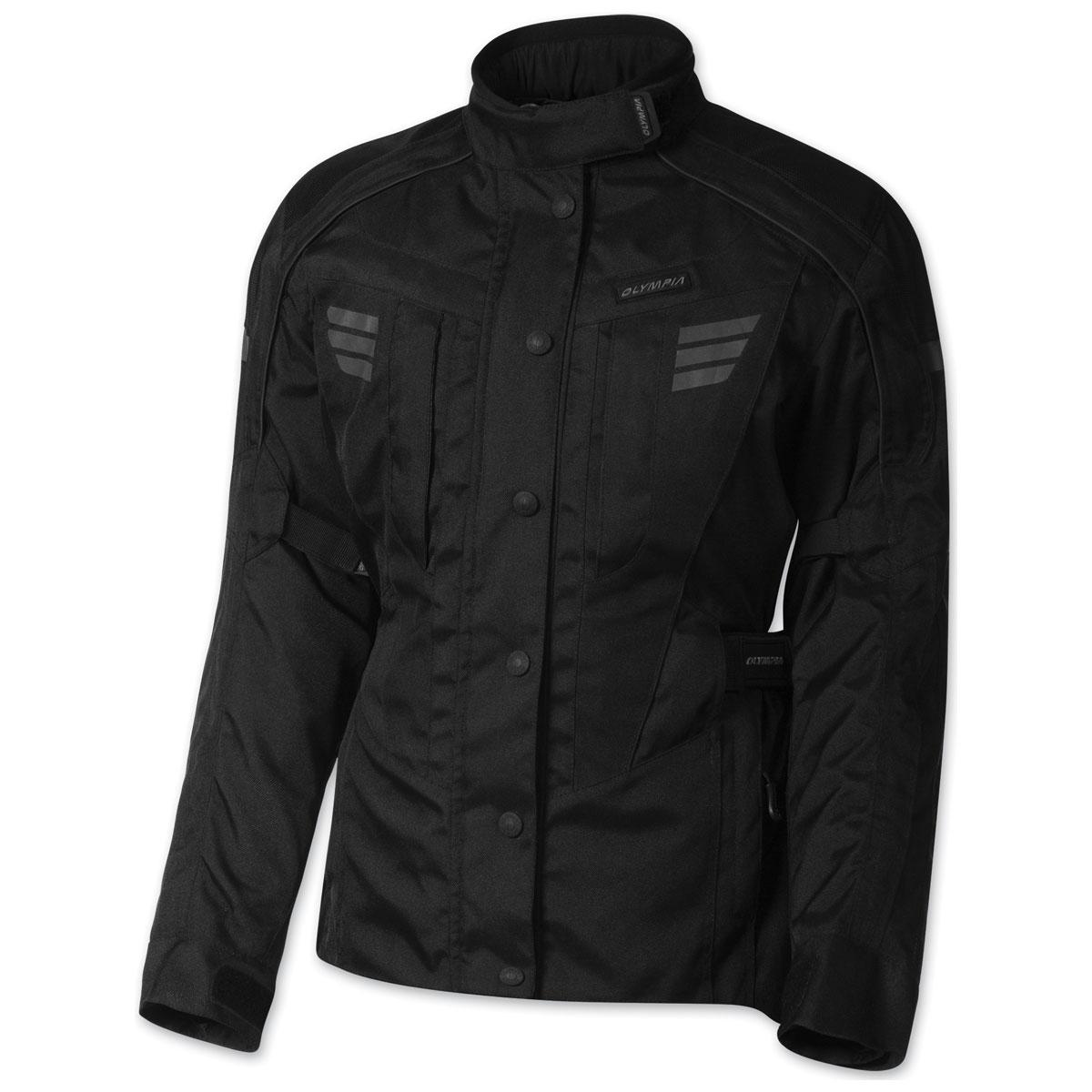 Olympia Moto Sports Women's Durham Black Jacket