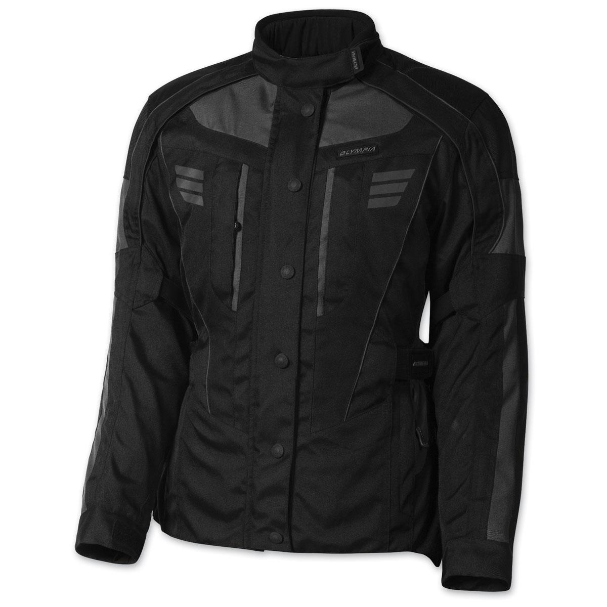 Olympia Moto Sports Women's Durham Gray Jacket
