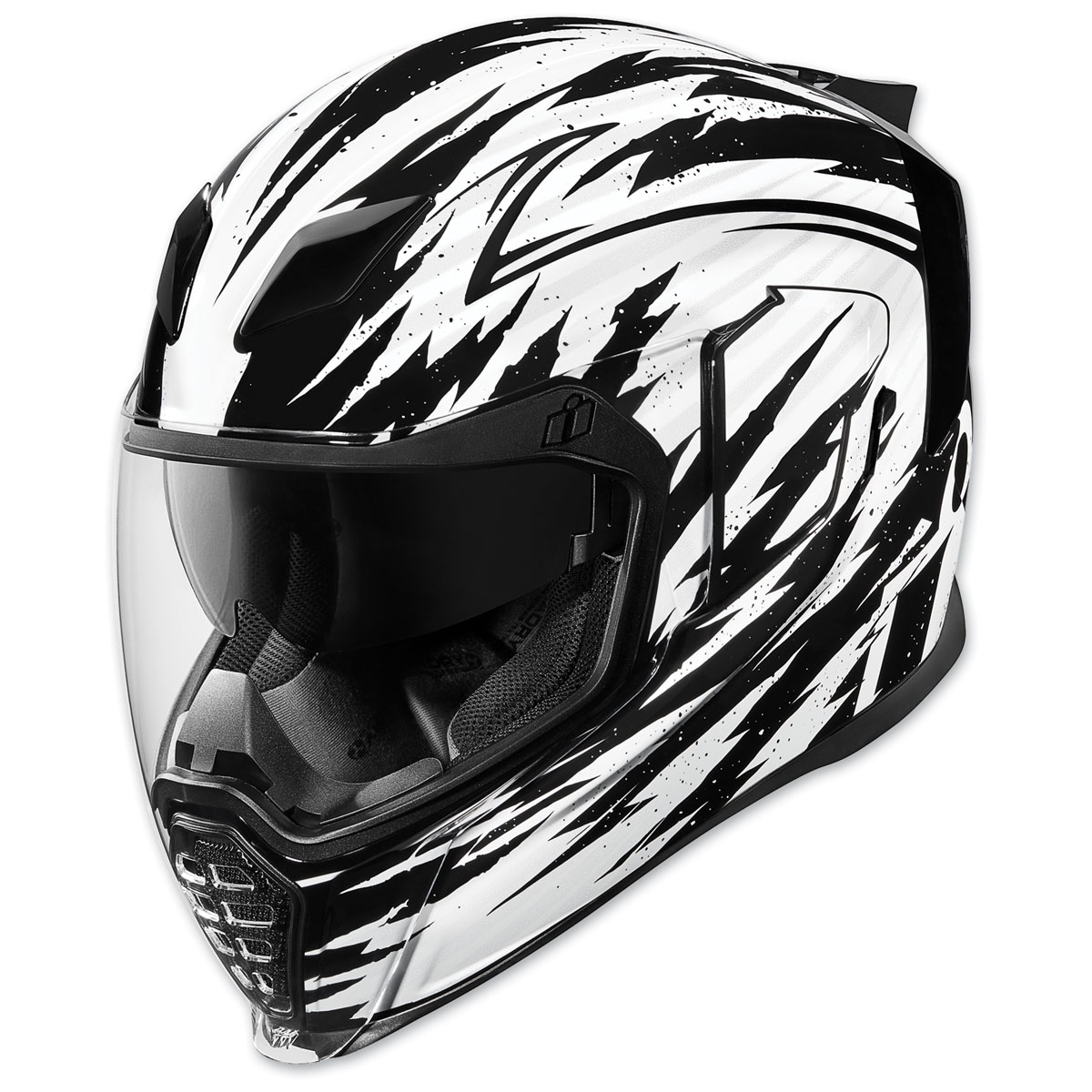 ICON Airflite Fayder White Full Face Helmet