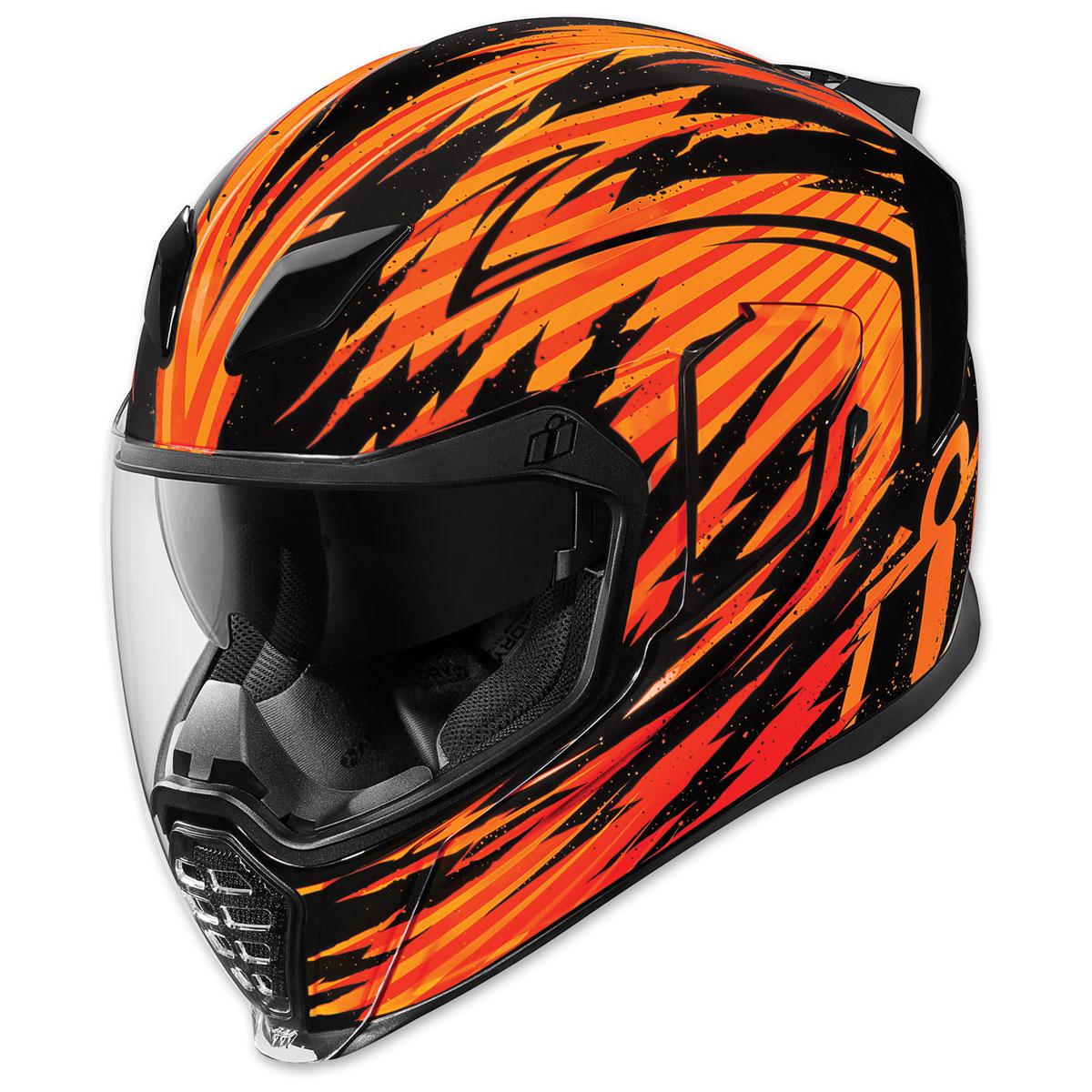 ICON Airflite Fayder Orange Full Face Helmet