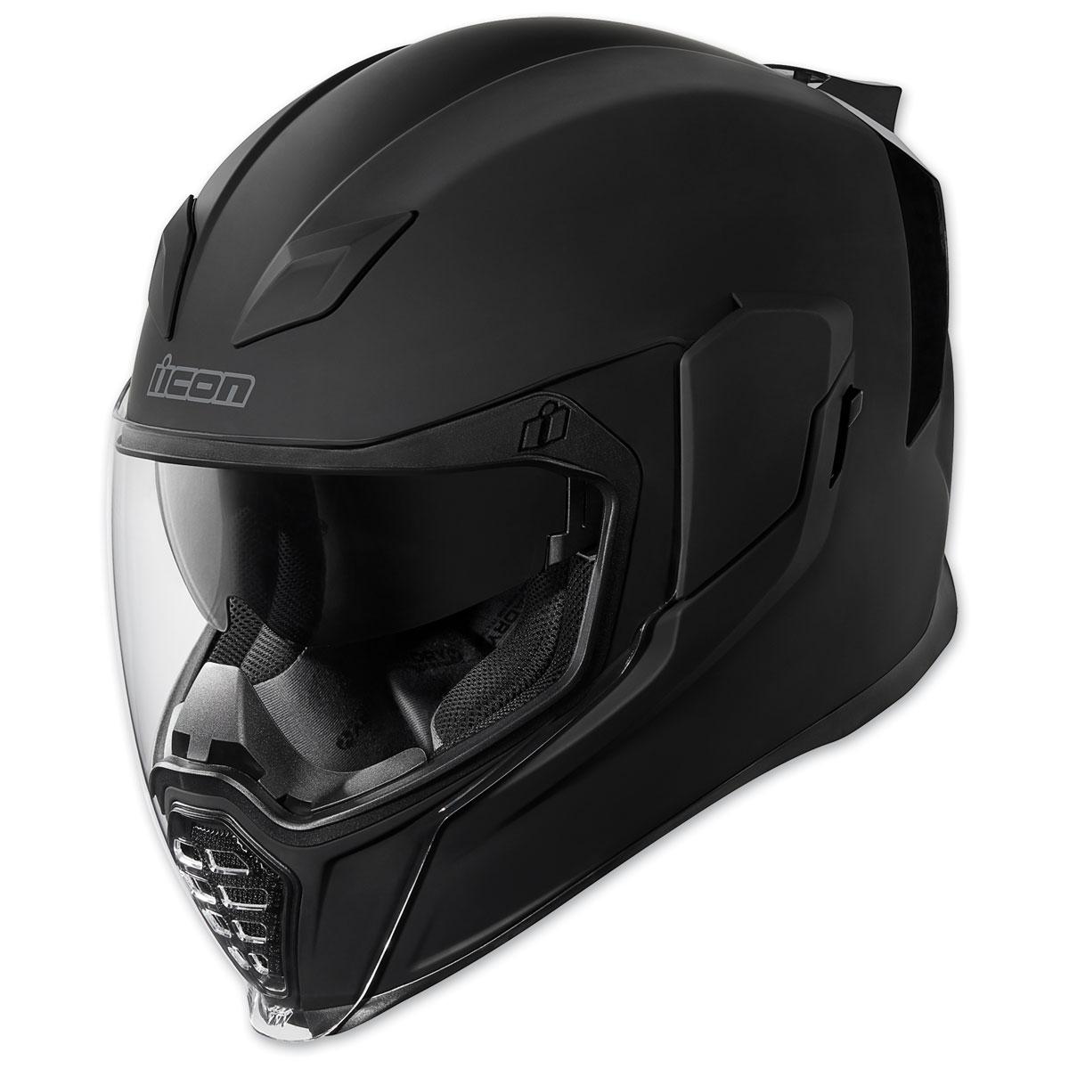 ICON Airflite Rubatone Black Full Face Helmet