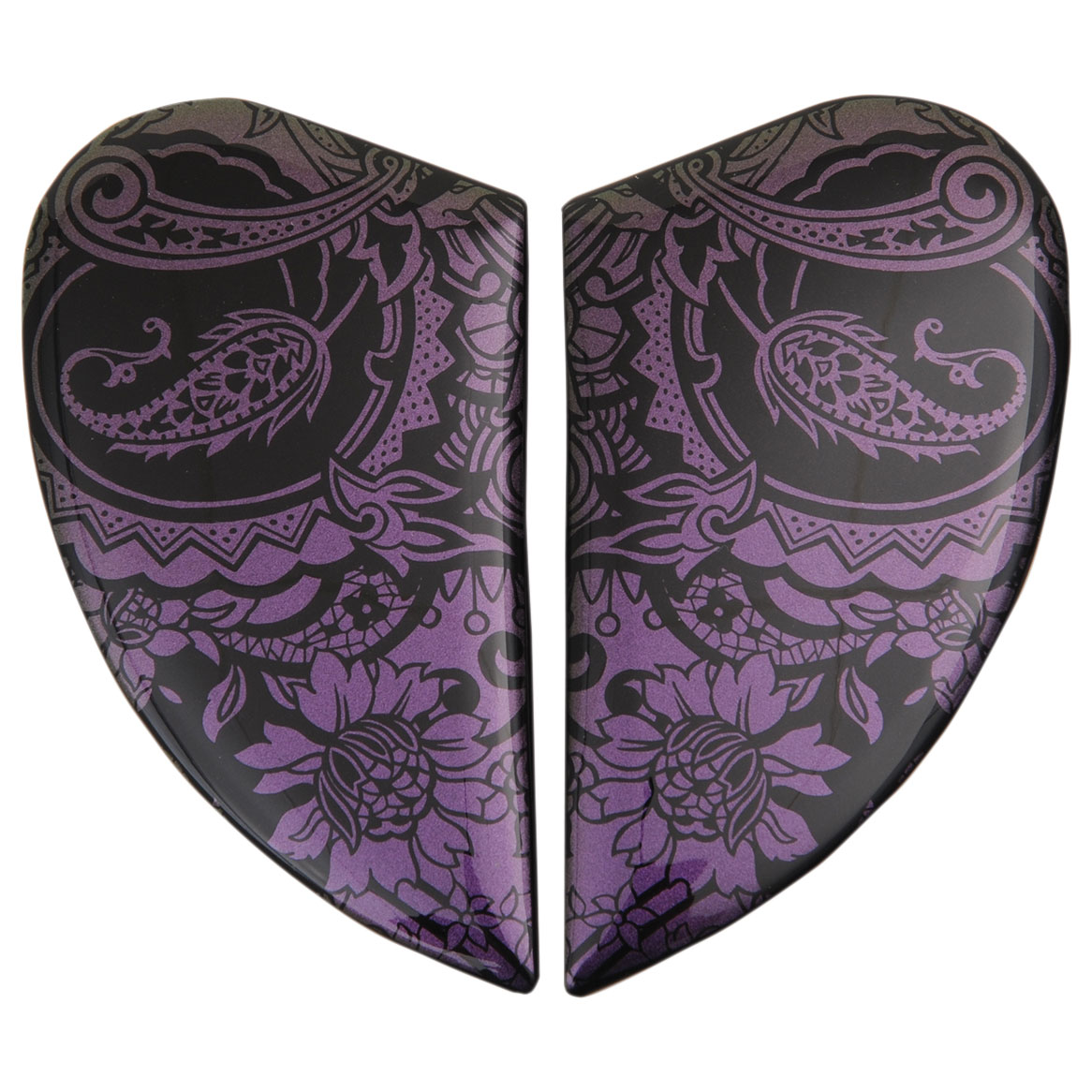 ICON Airmada Chantilly Opal Purple Sideplates