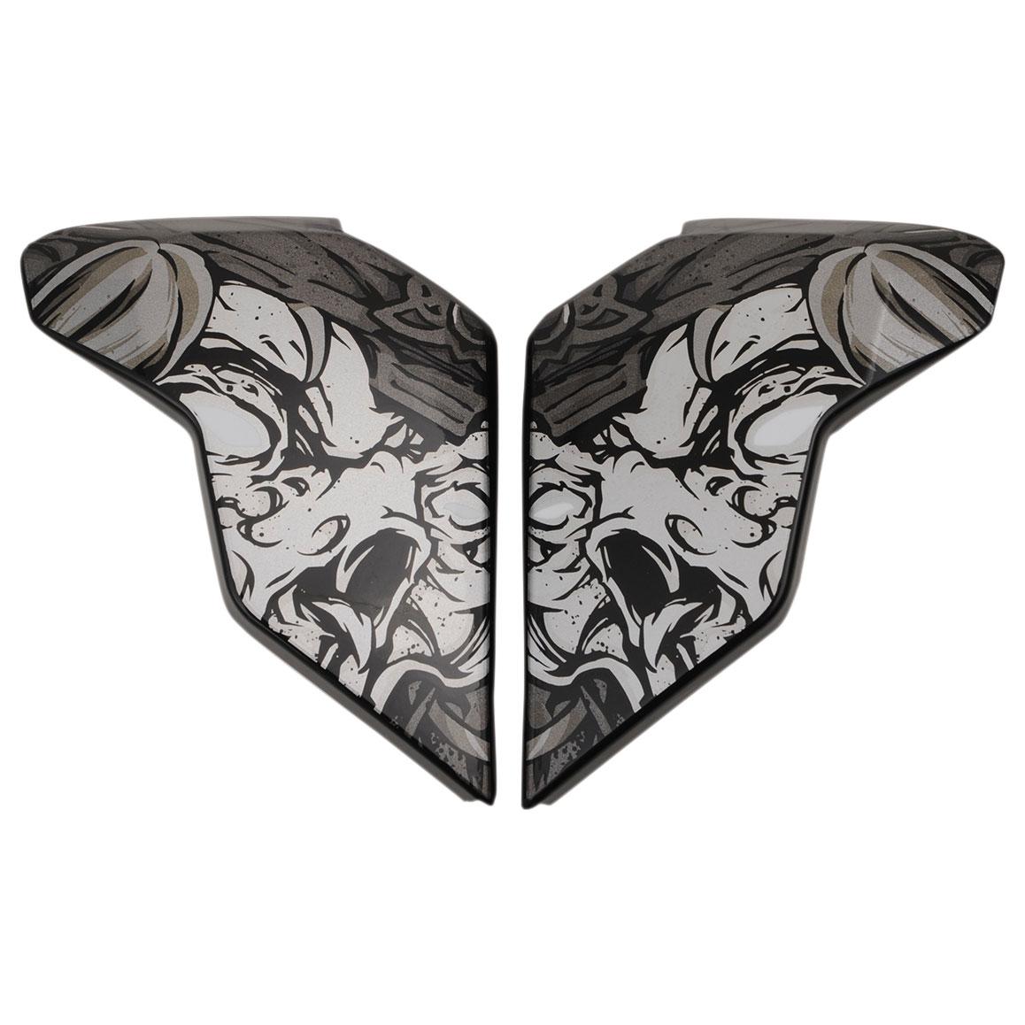ICON Airflite Krom Black Sideplate