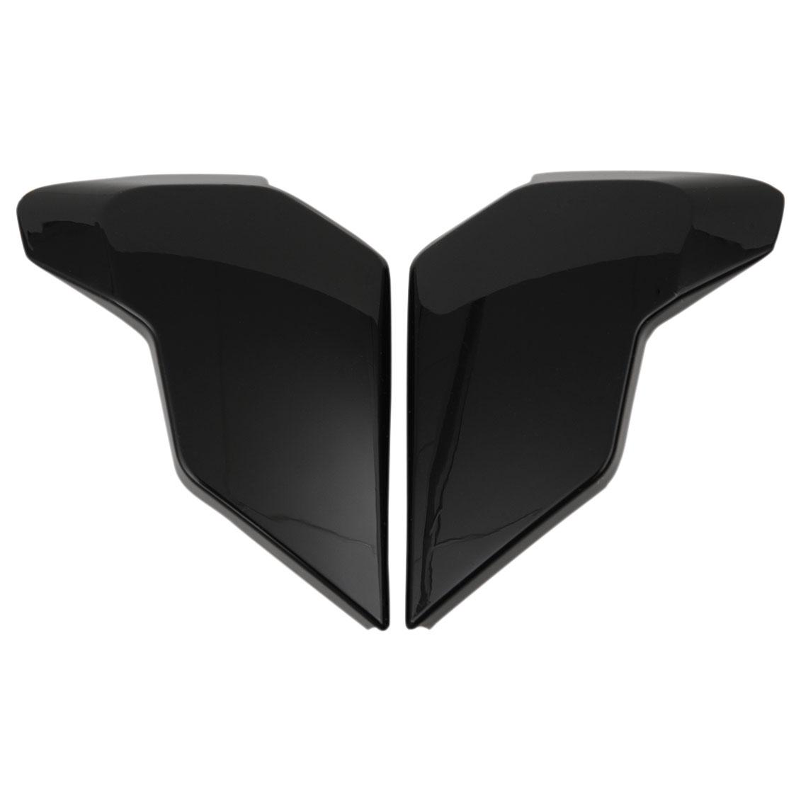 ICON Airflite Gloss Black Sideplates