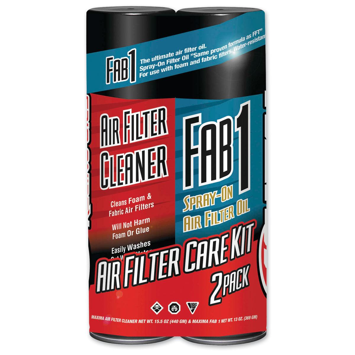 Maxima Air Filter Maintenance Care Kit Combo