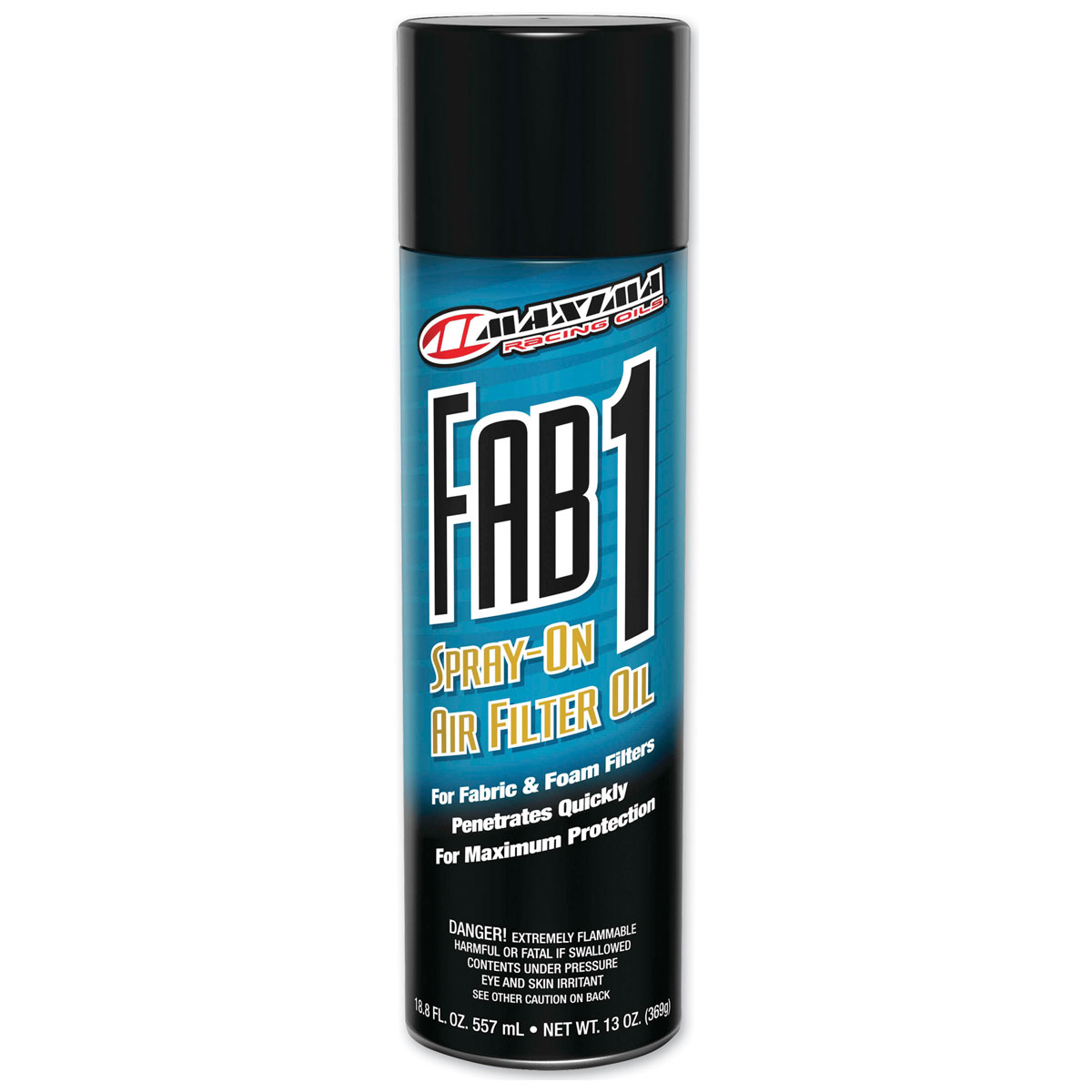 Maxima FAB-1 Fabric and Foam Filter Aerosol Oil
