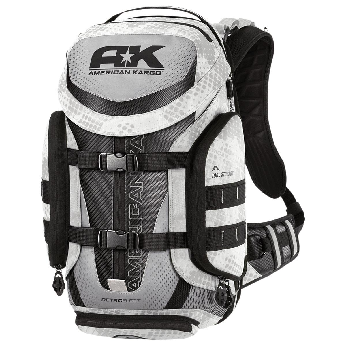 American Kargo Backpack Trooper White