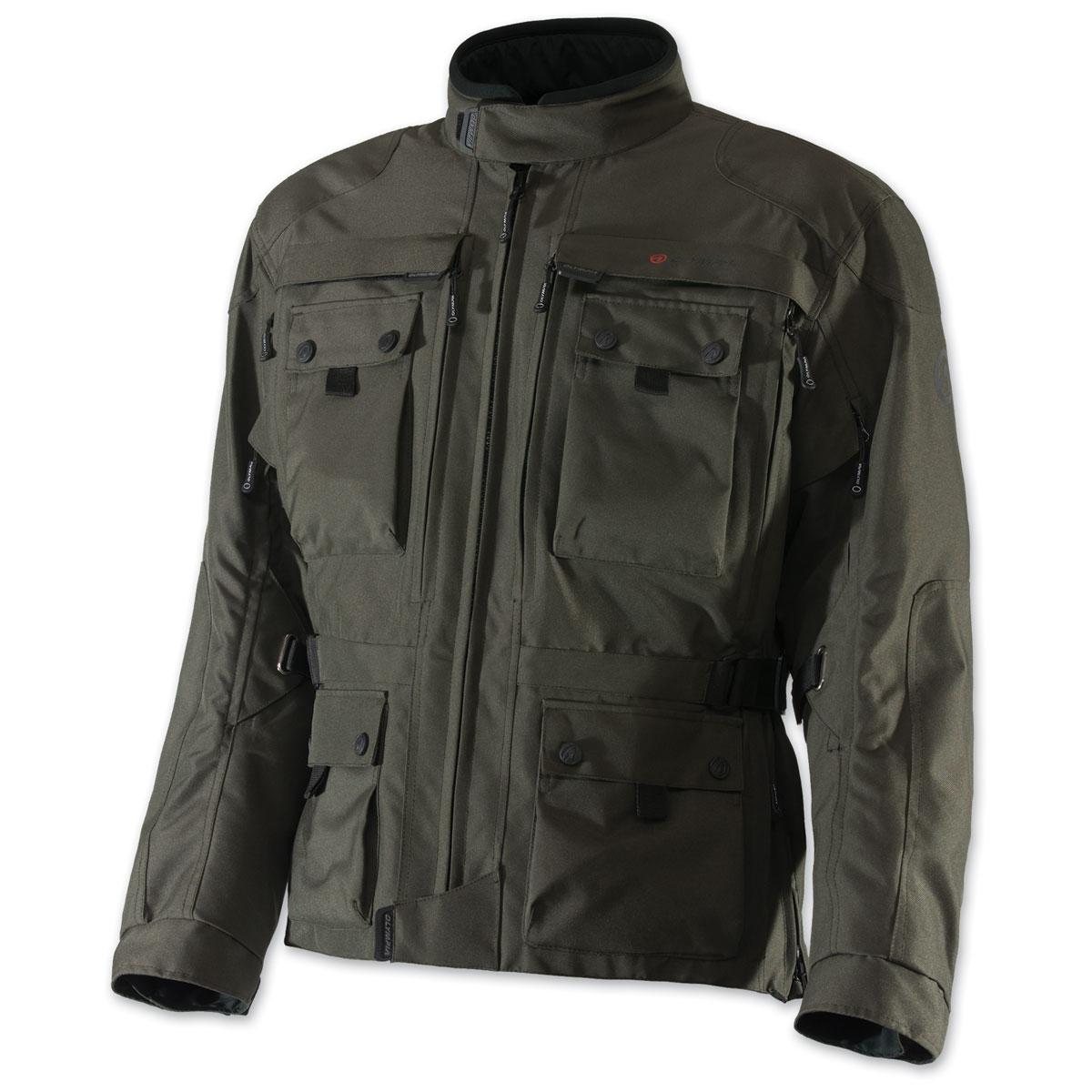 Olympia Moto Sports Men's Troy Transition Army Green Jacket