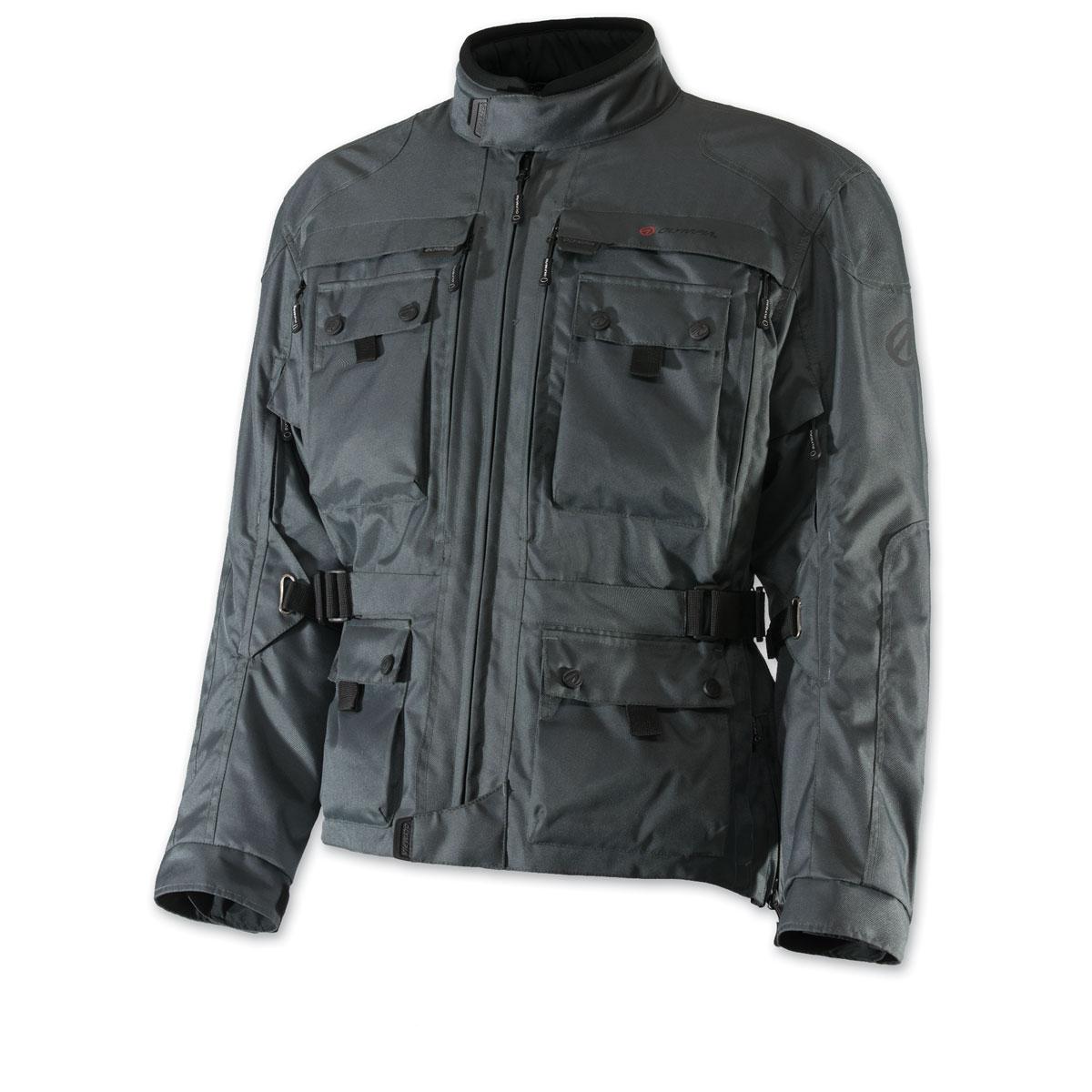 Olympia Moto Sports Men's Troy Transition Gray Jacket