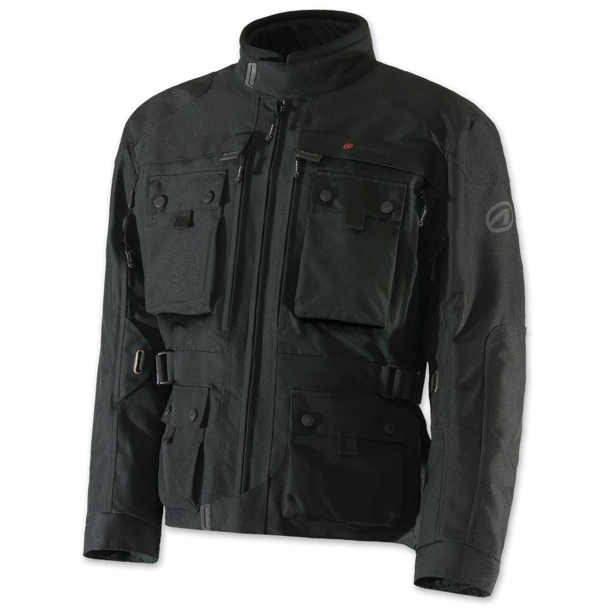Olympia Moto Sports Men's Troy Transition Black Jacket