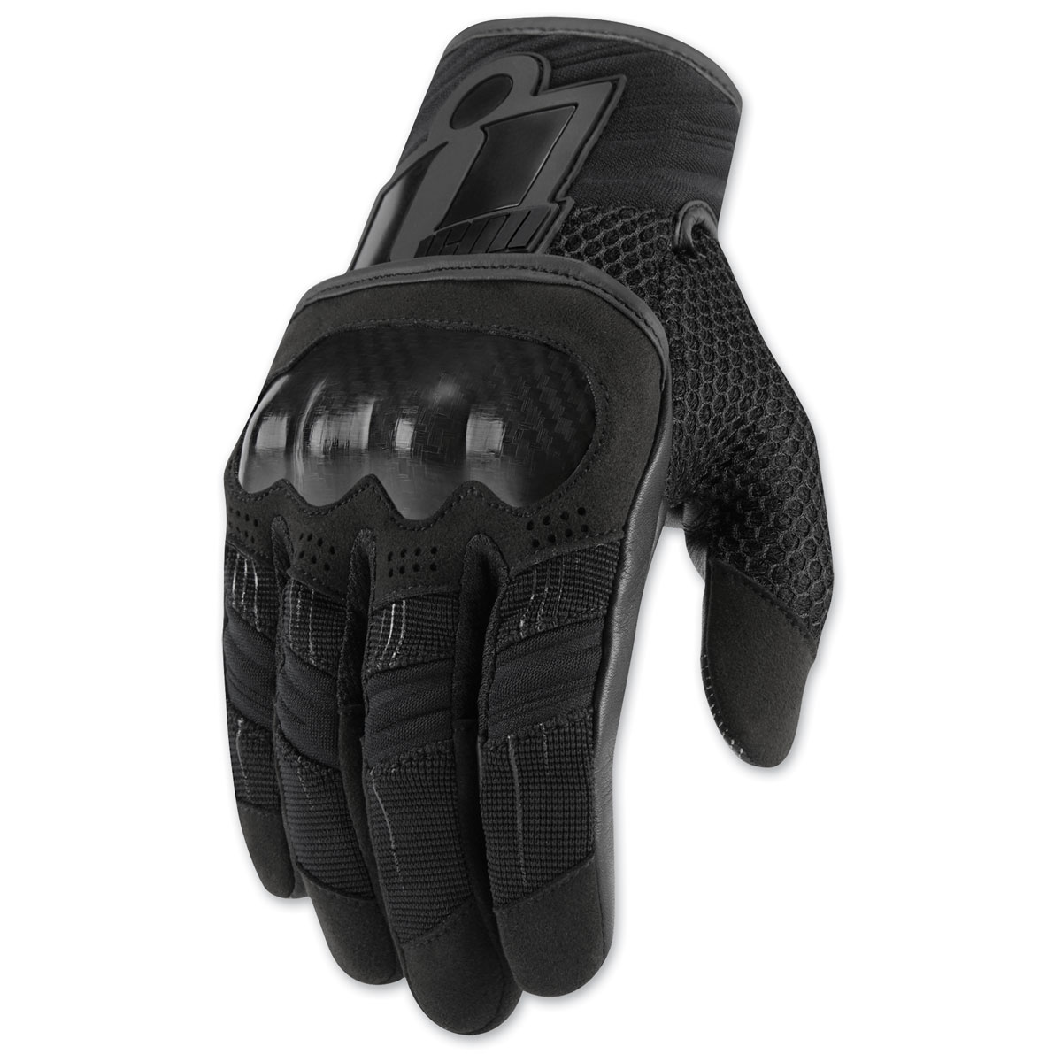 ICON Men's Overlord Black Gloves
