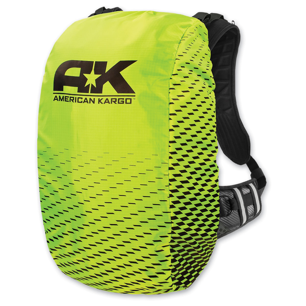 American Kargo Trooper Backpack Raincover Hi-Viz